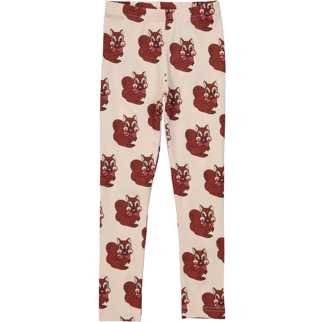 Brown squirrel leggings