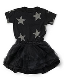 Star tulle dress