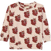 Brown squirrel sweatshirt