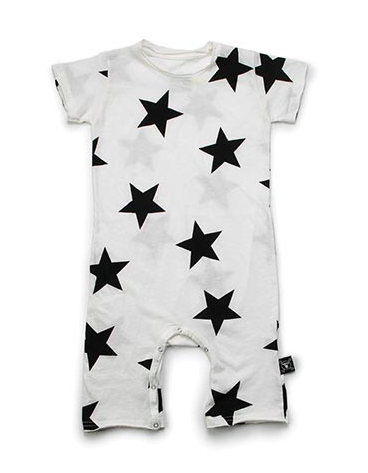 star playsuit - white
