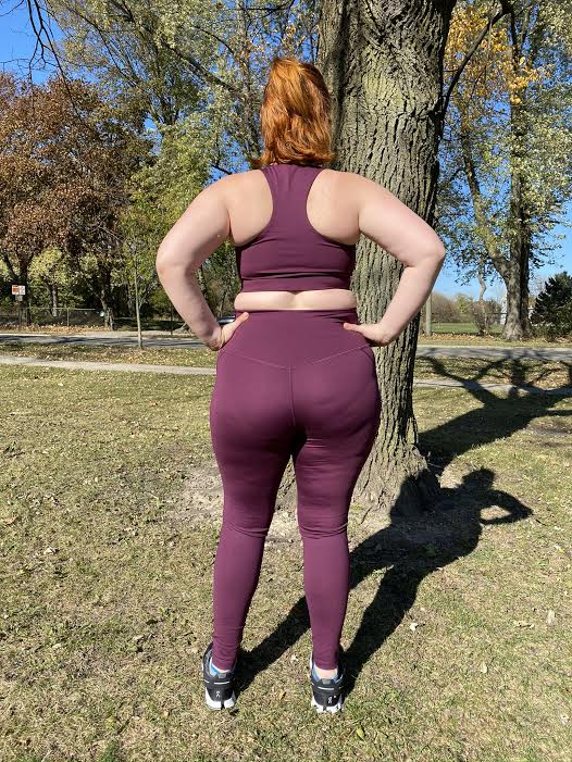 high rise compressive leggings - Cerer