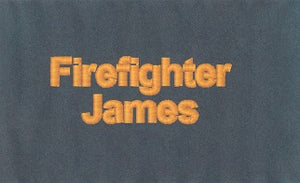 Embroidery for Firefighters Play Suit