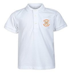 Cornwood White Polo Shirt