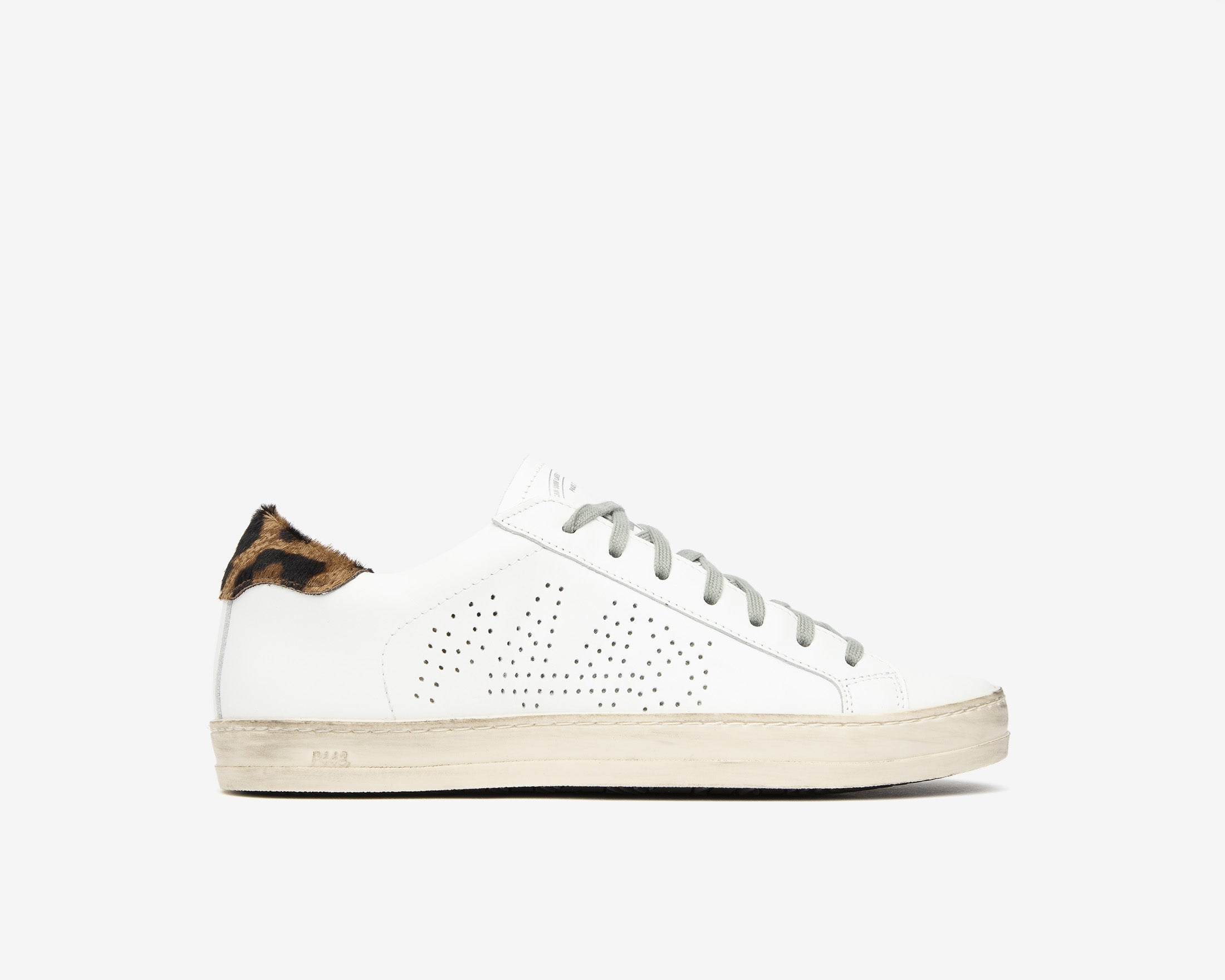 John Low-Top Sneaker in White/Cleo - Profile