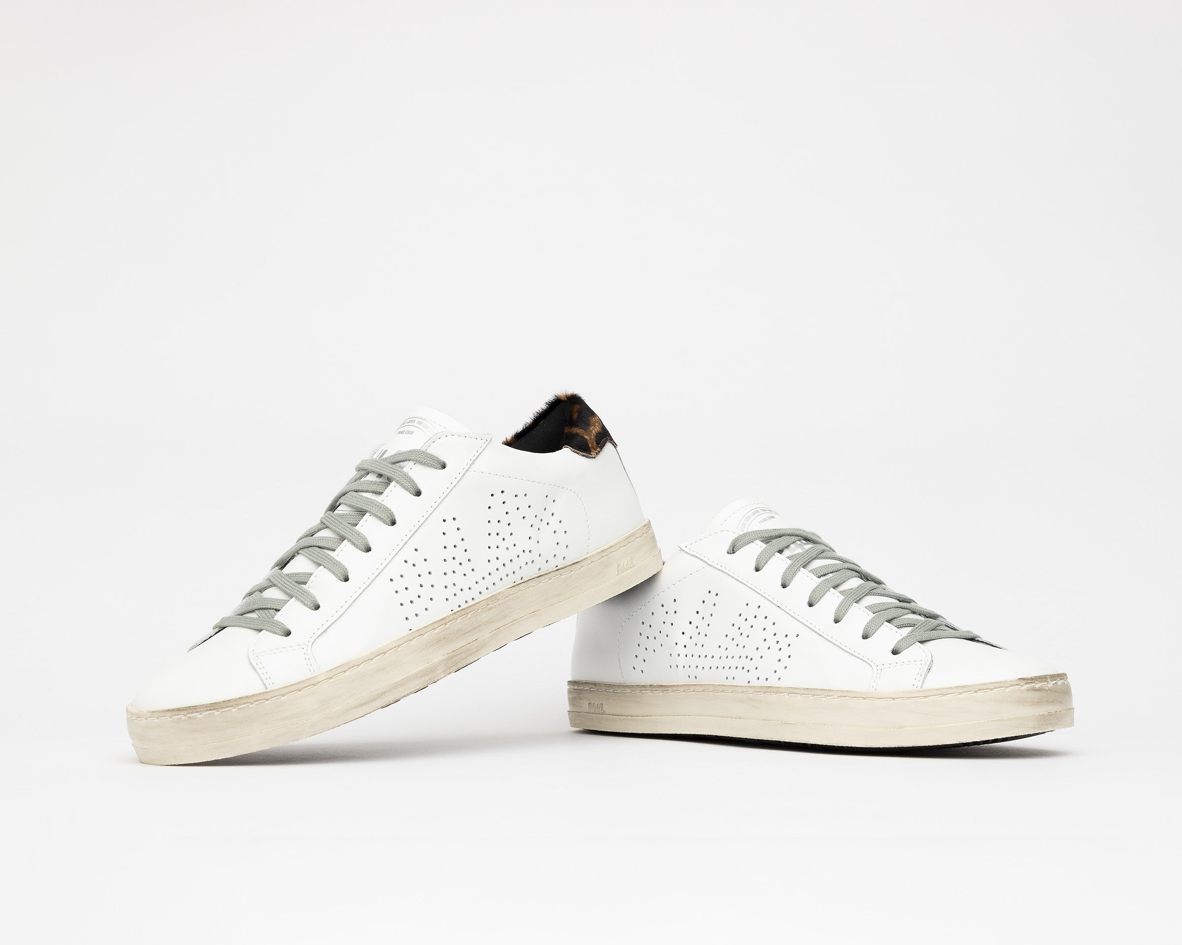 John Low-Top Sneaker in White/Cleo - Detail 1