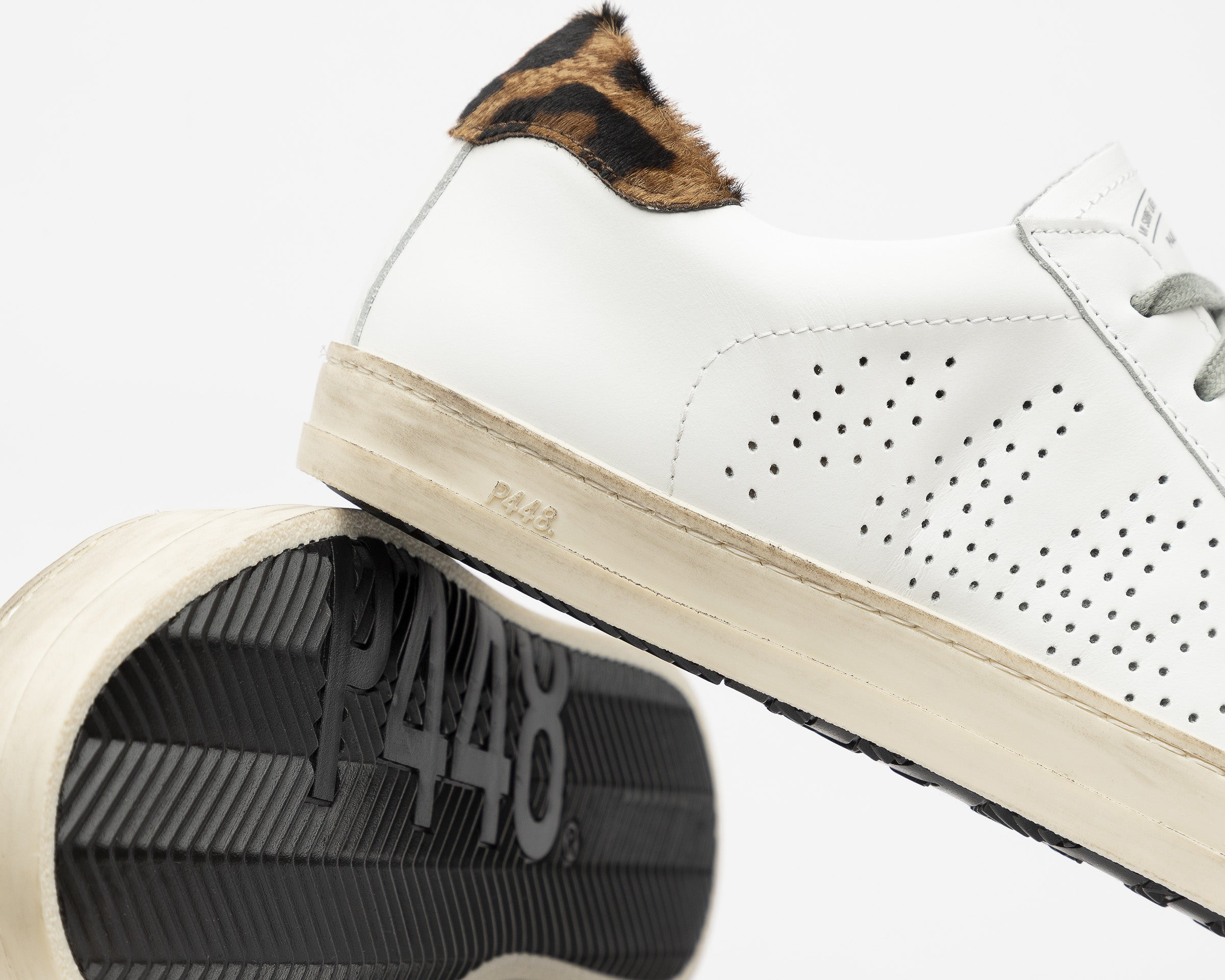 John Low-Top Sneaker in White/Cleo - Detail 2