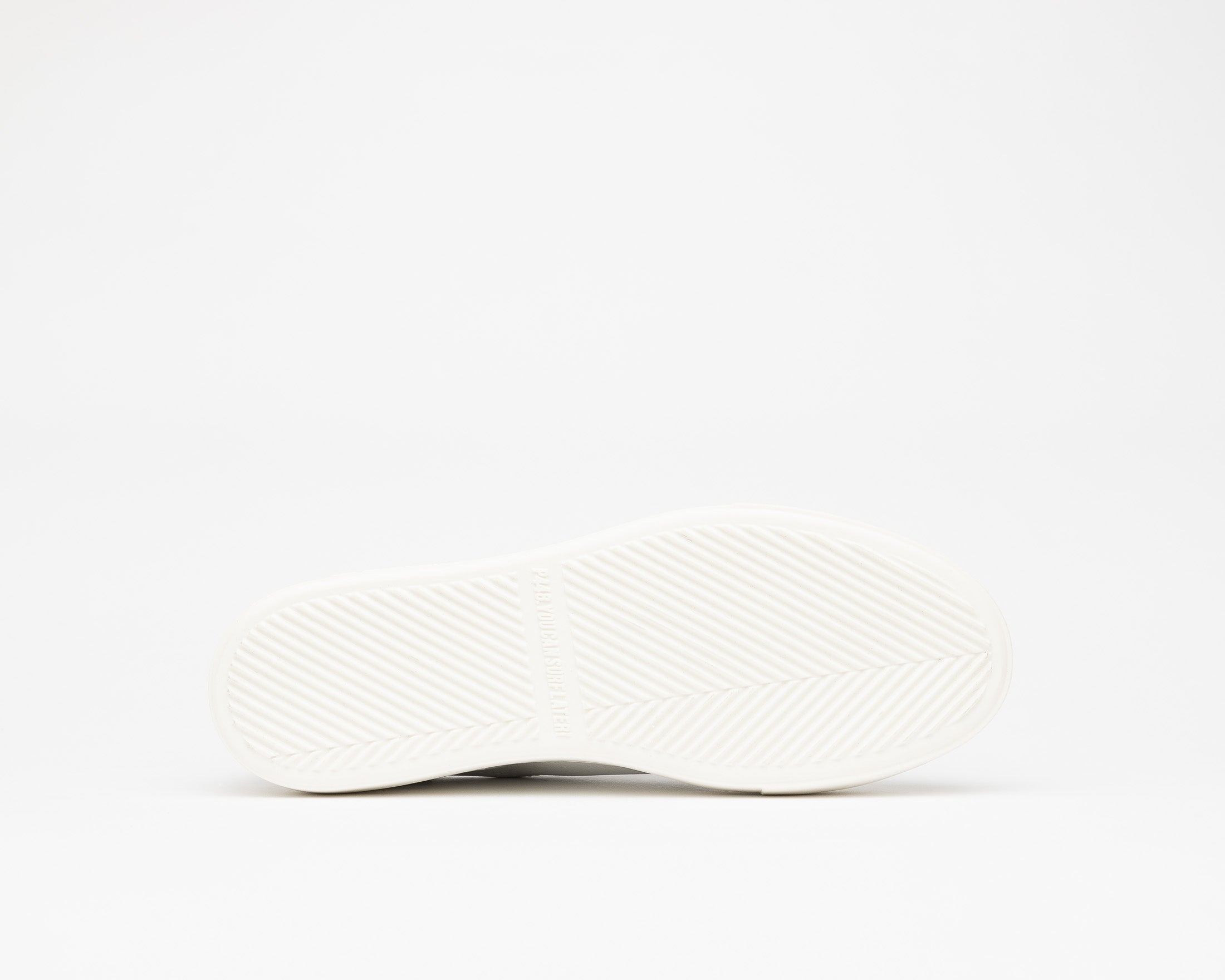 Thea Platform Sneaker in White/Cper - Bottom