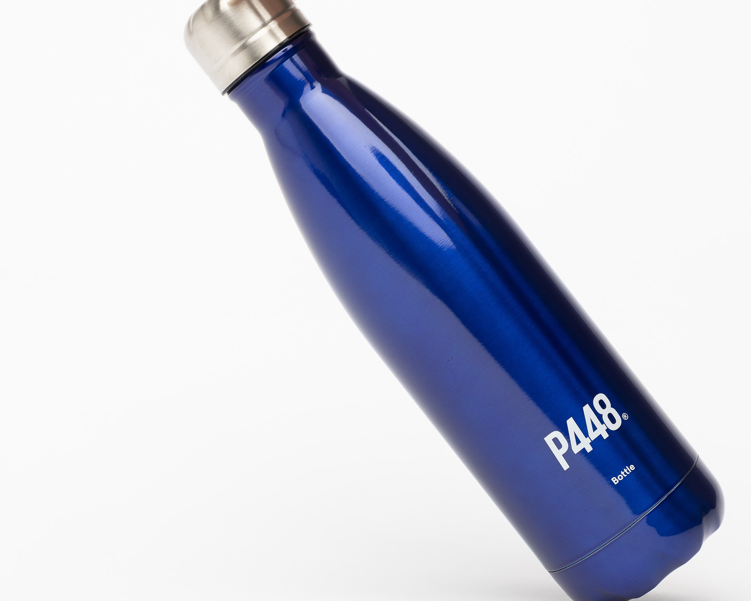 P448 Reusable Water Bottle - Navy - Detail