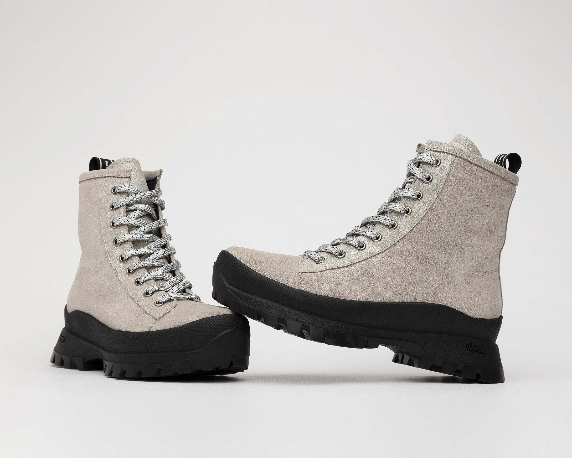 Denise Combat Boot with Vibram bottom in Spark - Detail 1
