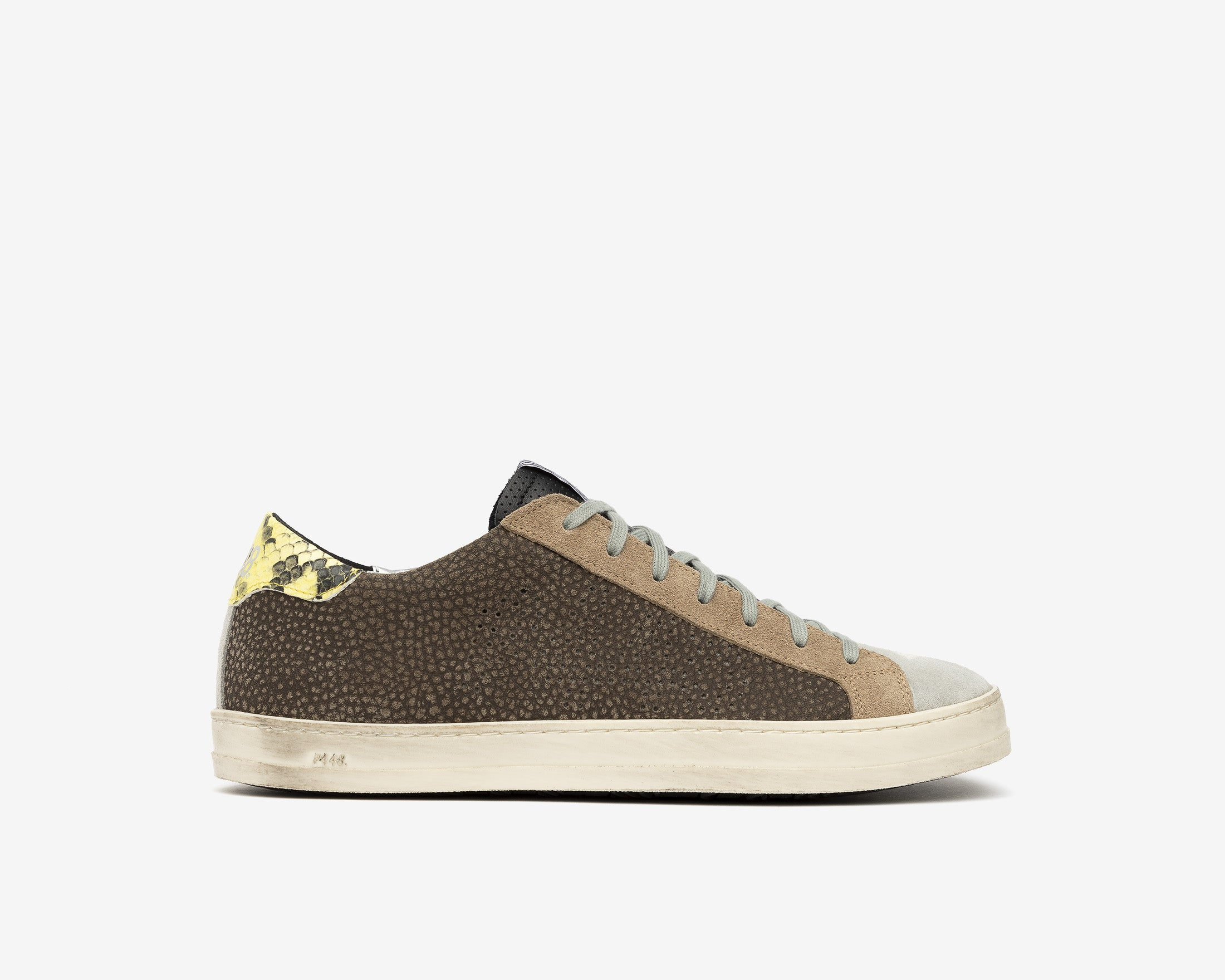 John Low-Top Sneaker in Brown - Profile