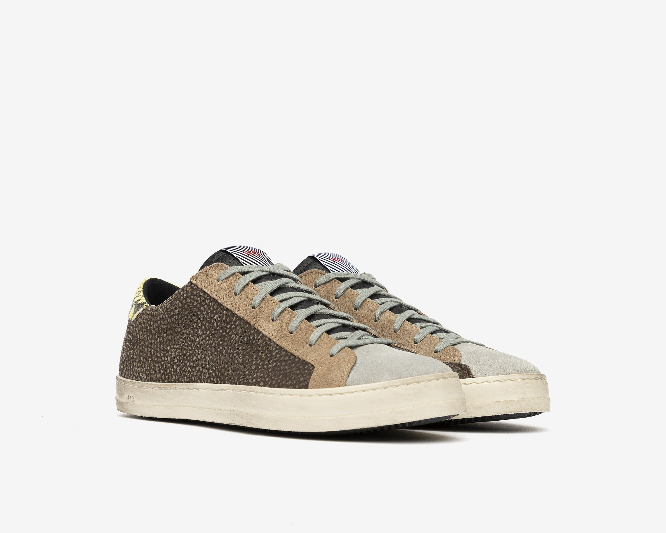 John Low-Top Sneaker in Brown - Side