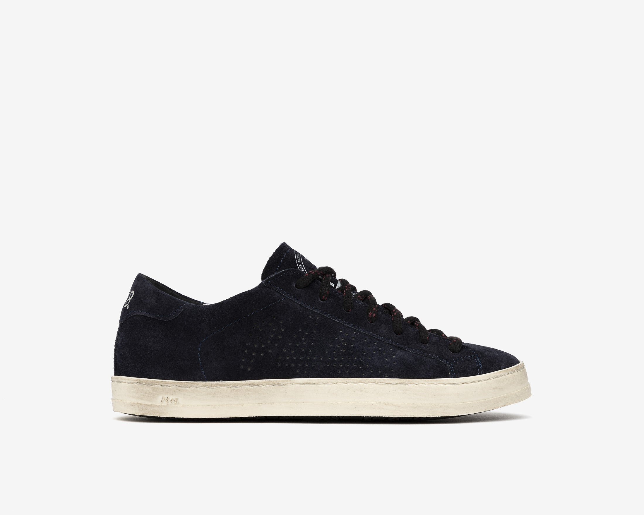 John Low-Top Sneaker in Evolo Navy - Profile
