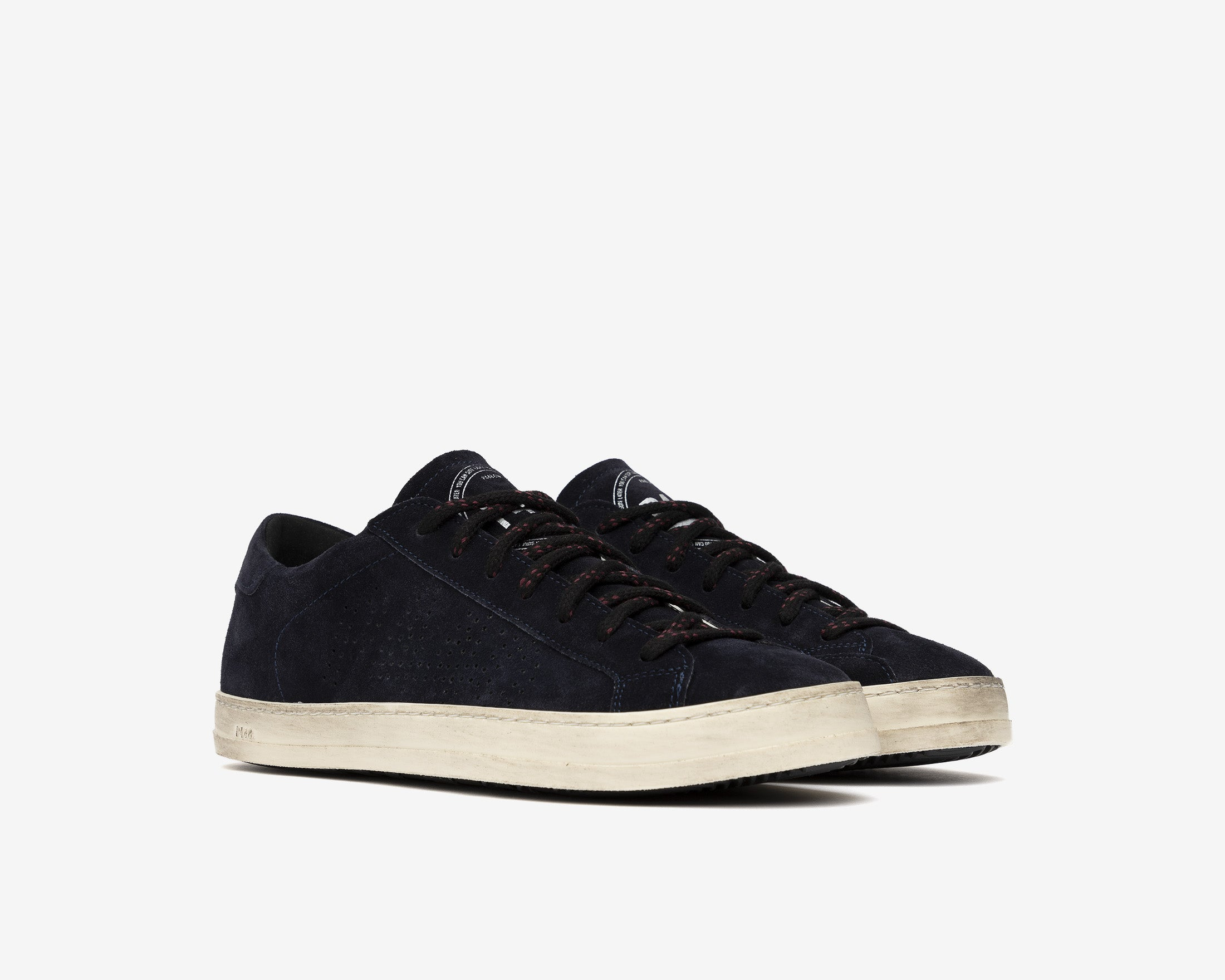 John Low-Top Sneaker in Evolo Navy - Side