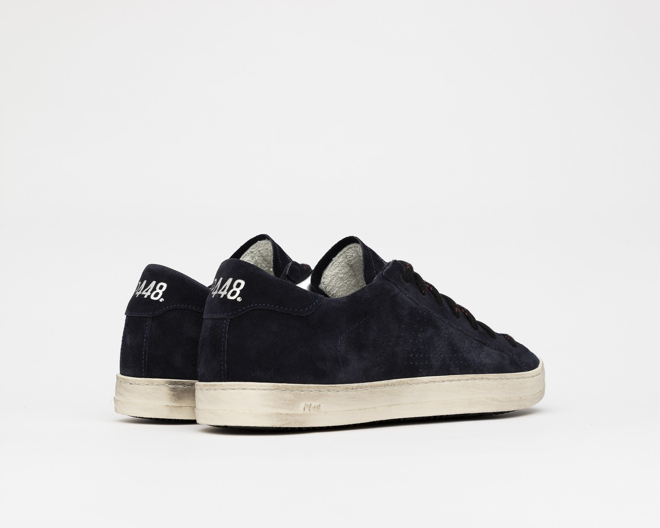 John Low-Top Sneaker in Evolo Navy - Back