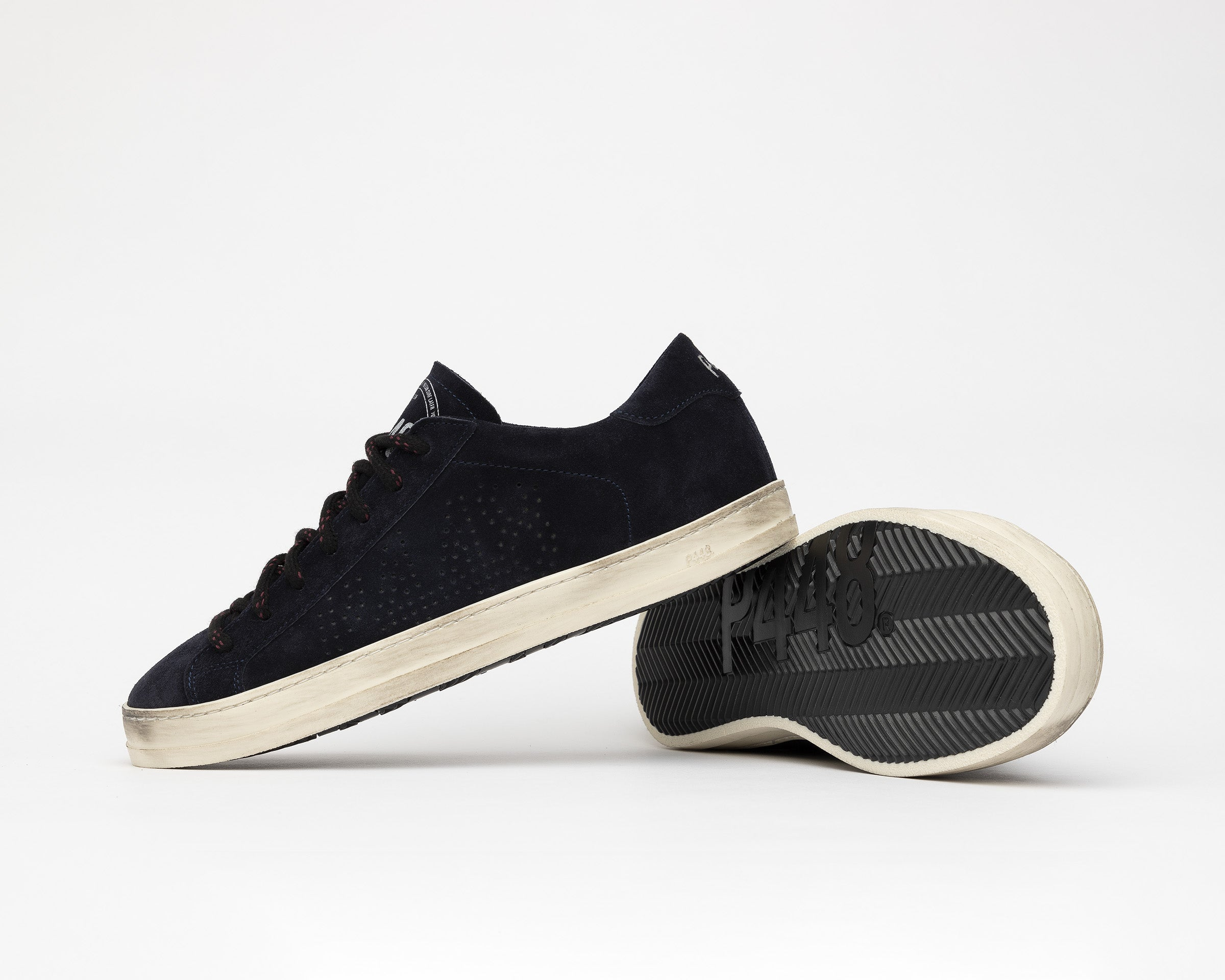John Low-Top Sneaker in Evolo Navy - Detail 1