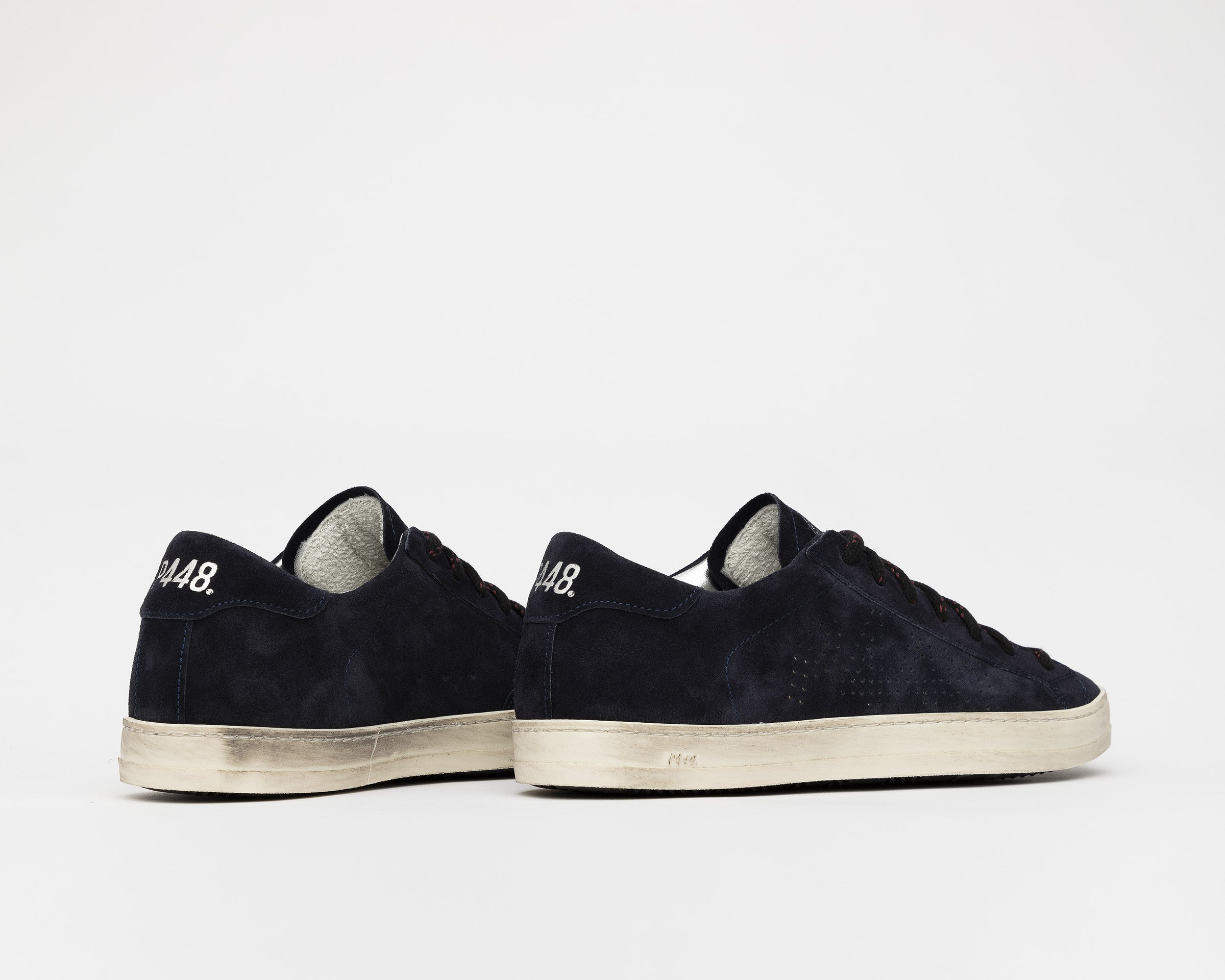 John Low-Top Sneaker in Evolo Navy - Detail 2