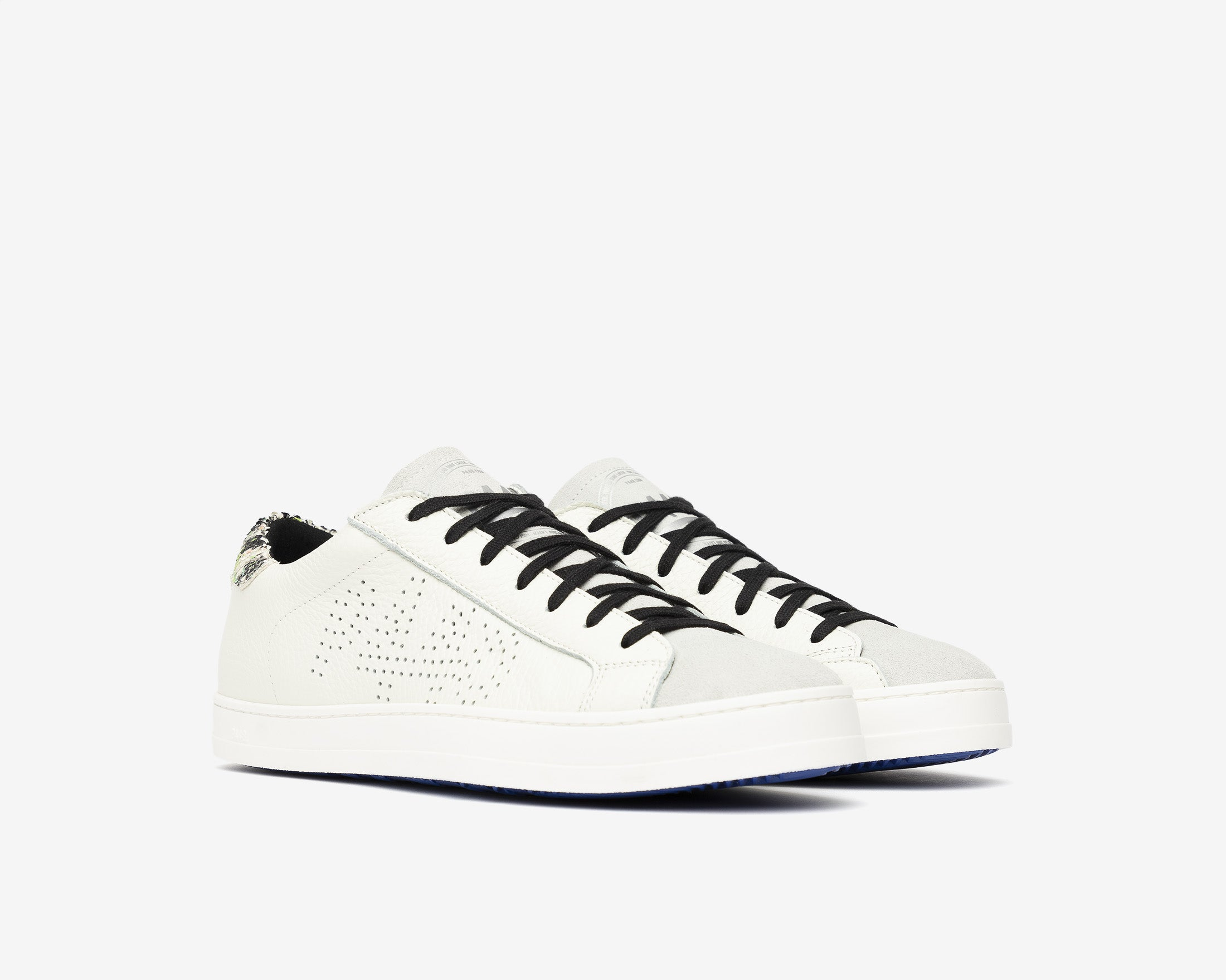 John Low-Top Sneaker in White/Spep - Side