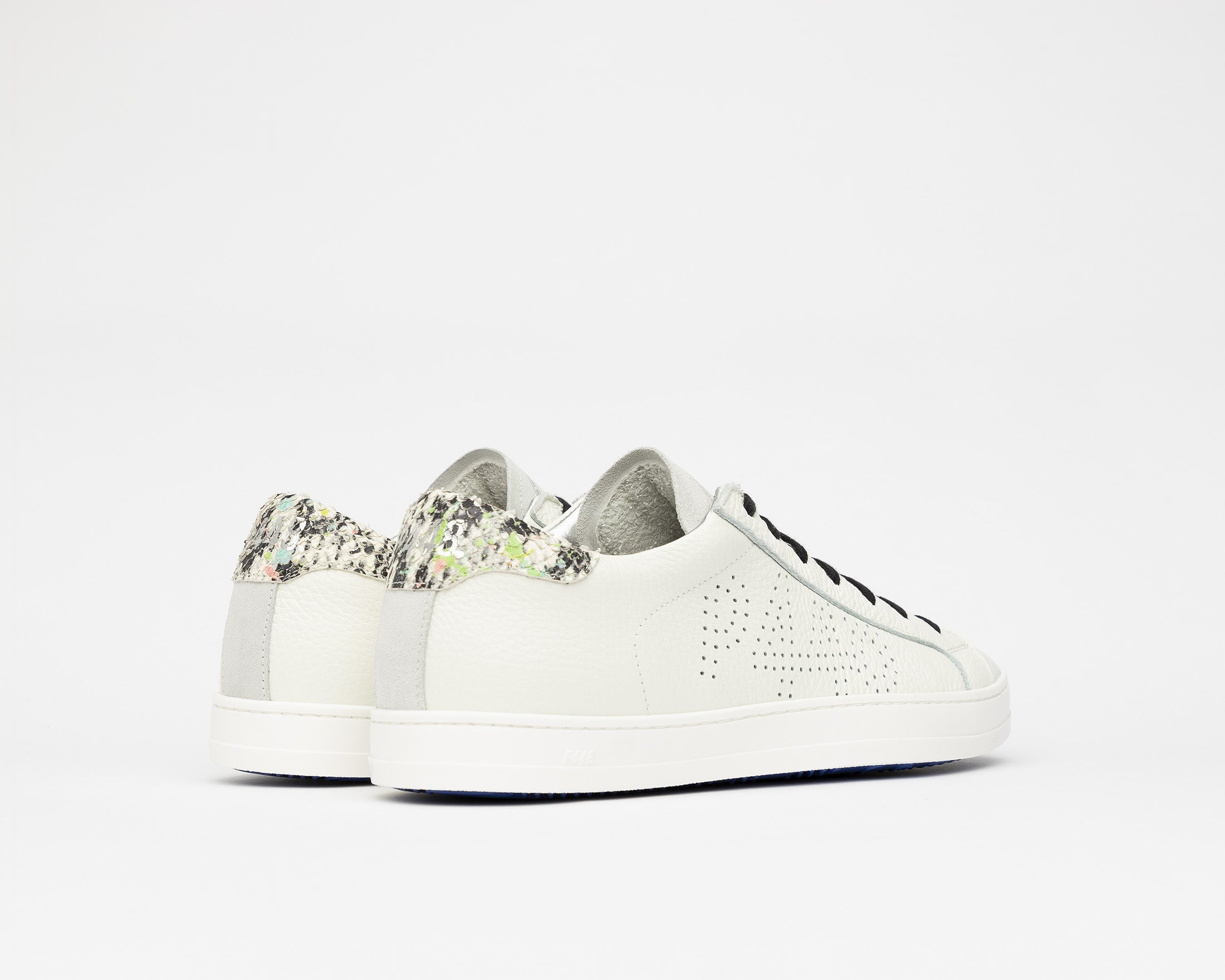 John Low-Top Sneaker in White/Spep - Back