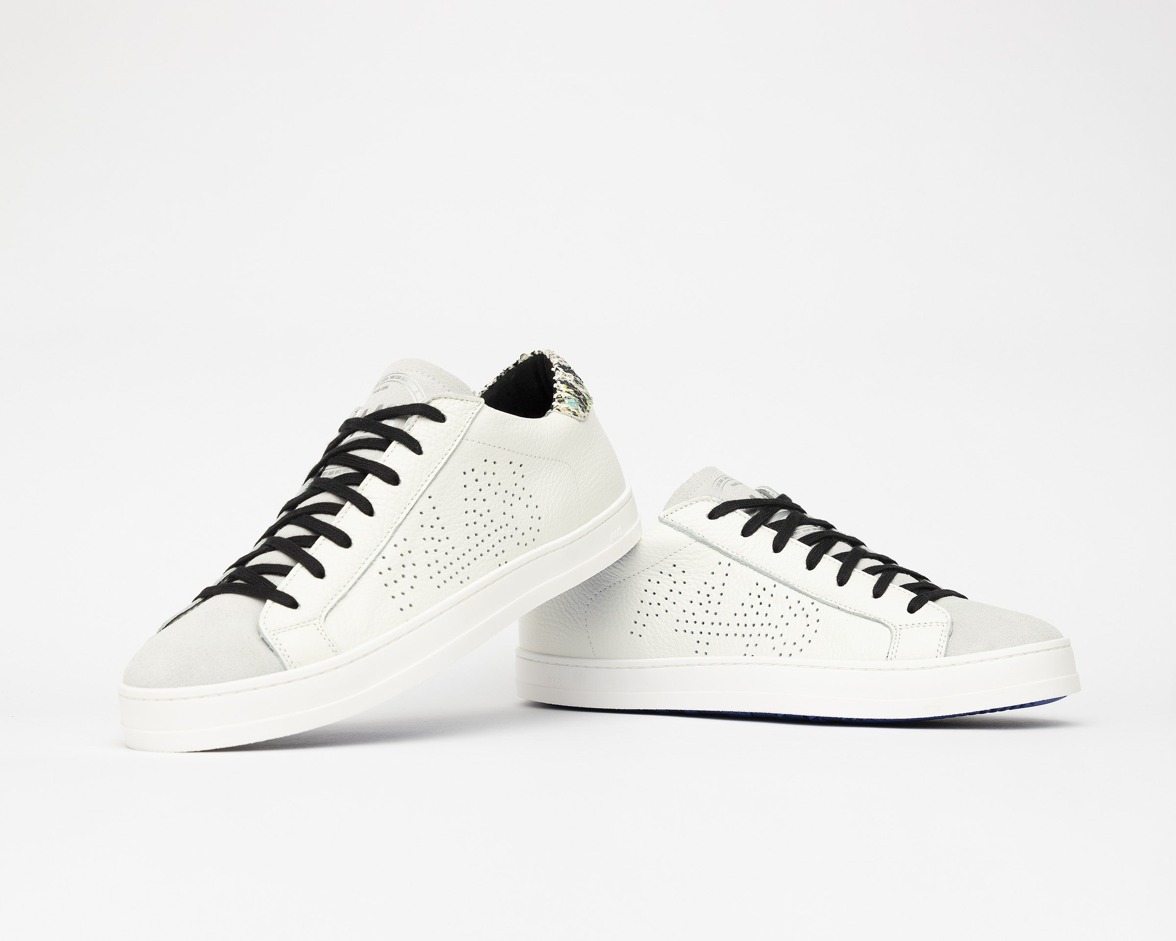 John Low-Top Sneaker in White/Spep - Detail 1