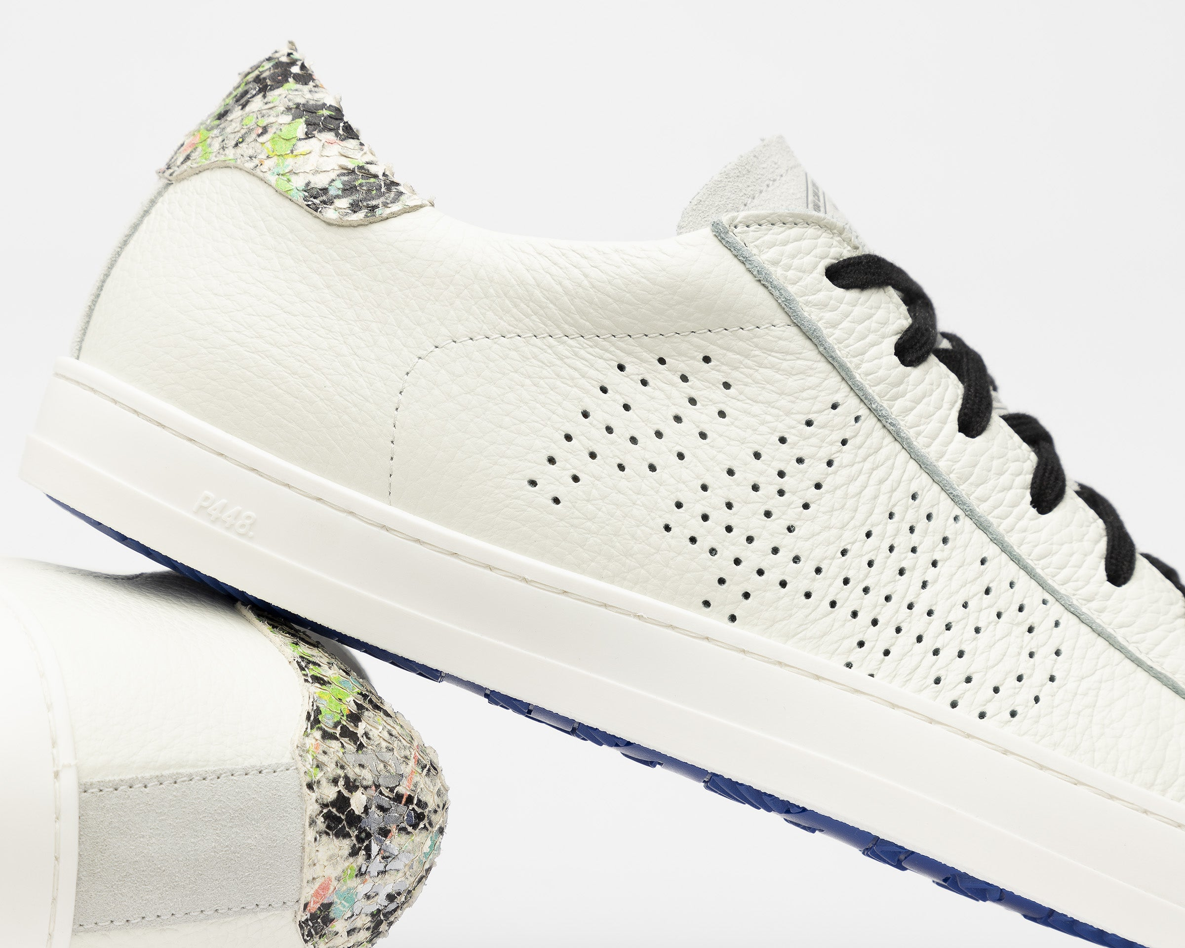 John Low-Top Sneaker in White/Spep - Detail 2