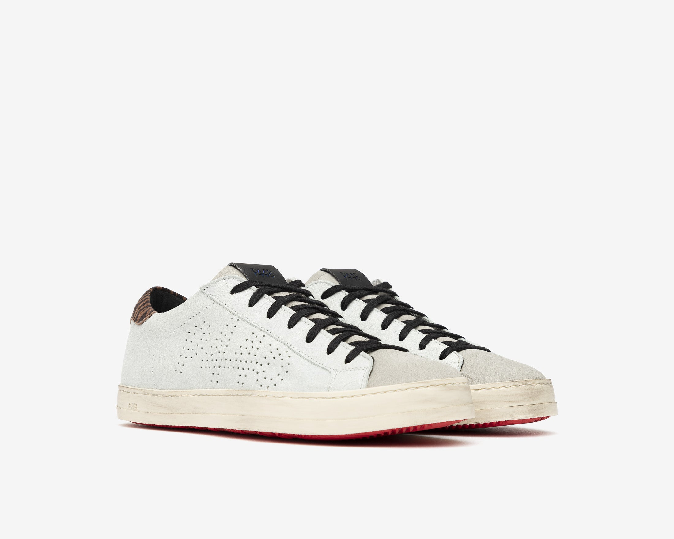 John Low-Top Sneaker in Powder - Side