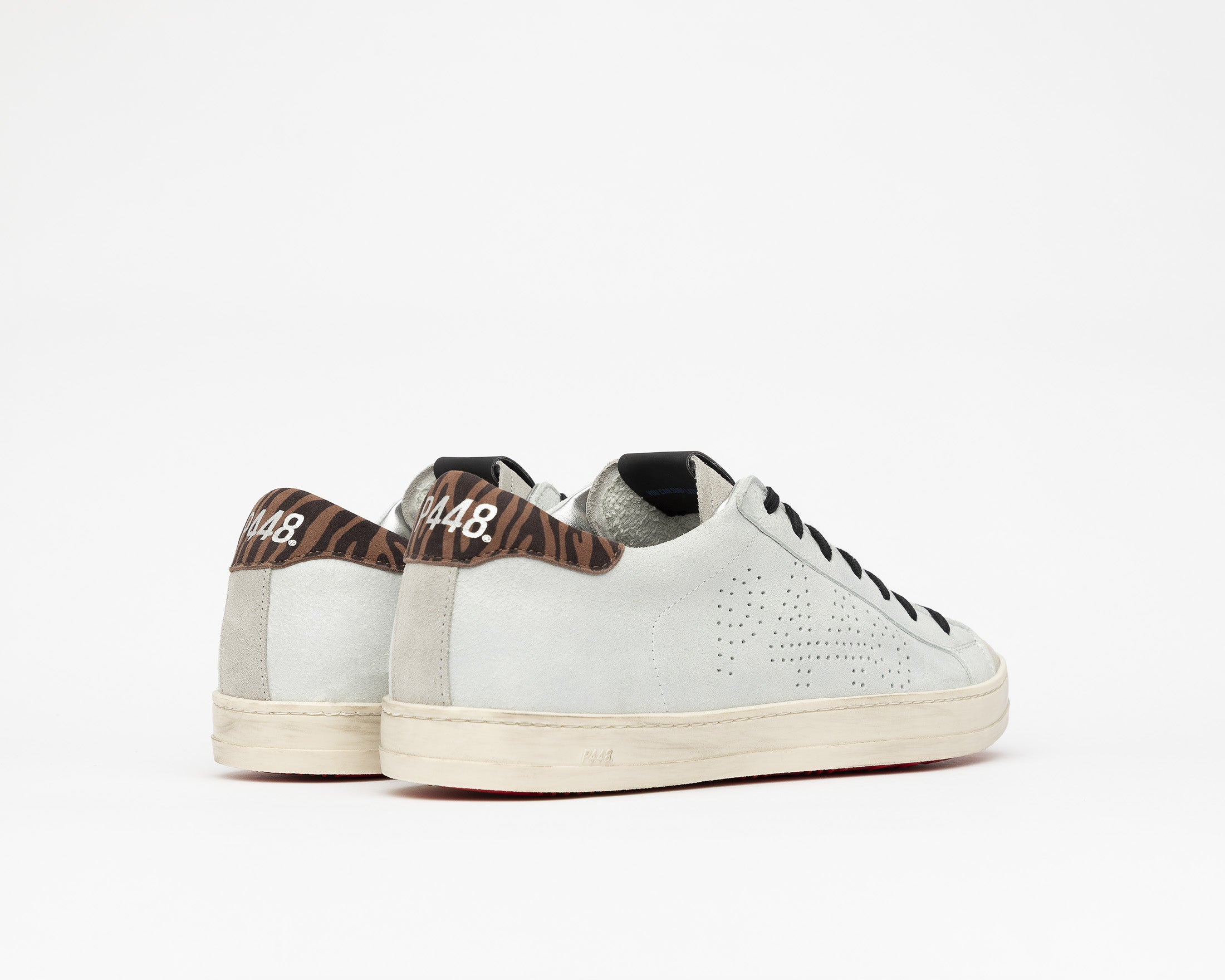 John Low-Top Sneaker in Powder - Back