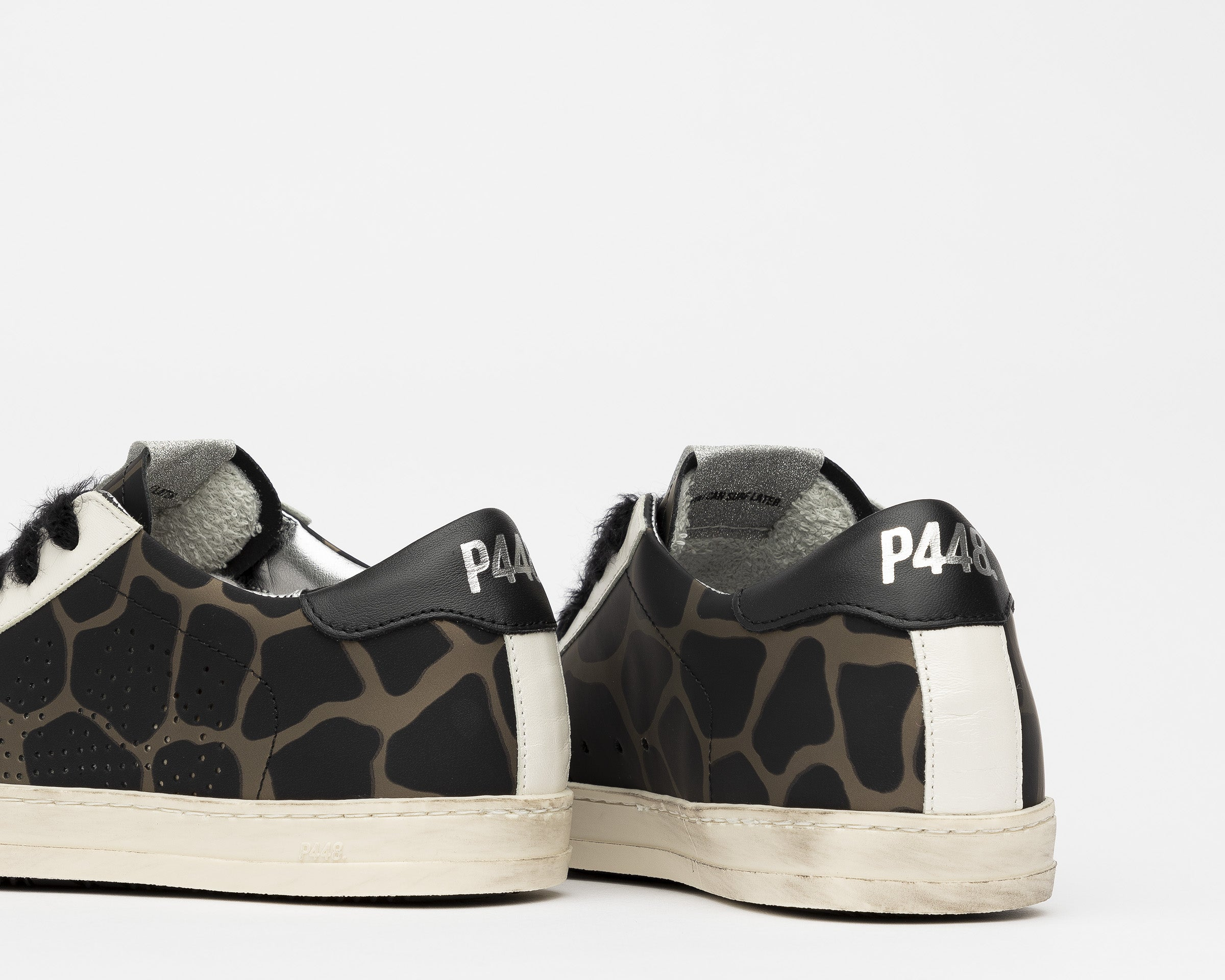 John Low-Top Sneaker in Army Giraffe - Detail 2