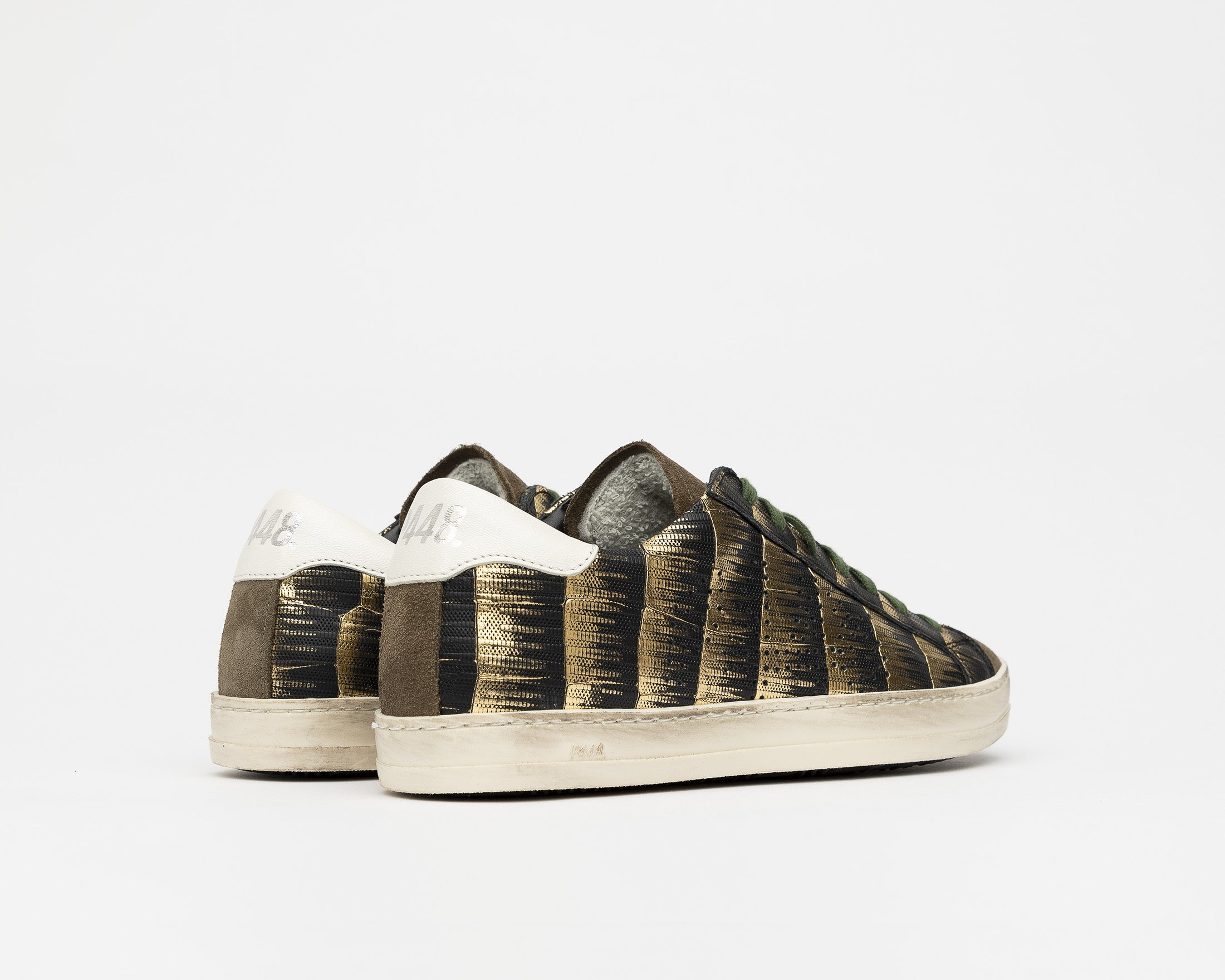 John Low-Top Sneaker in Clarm - Back
