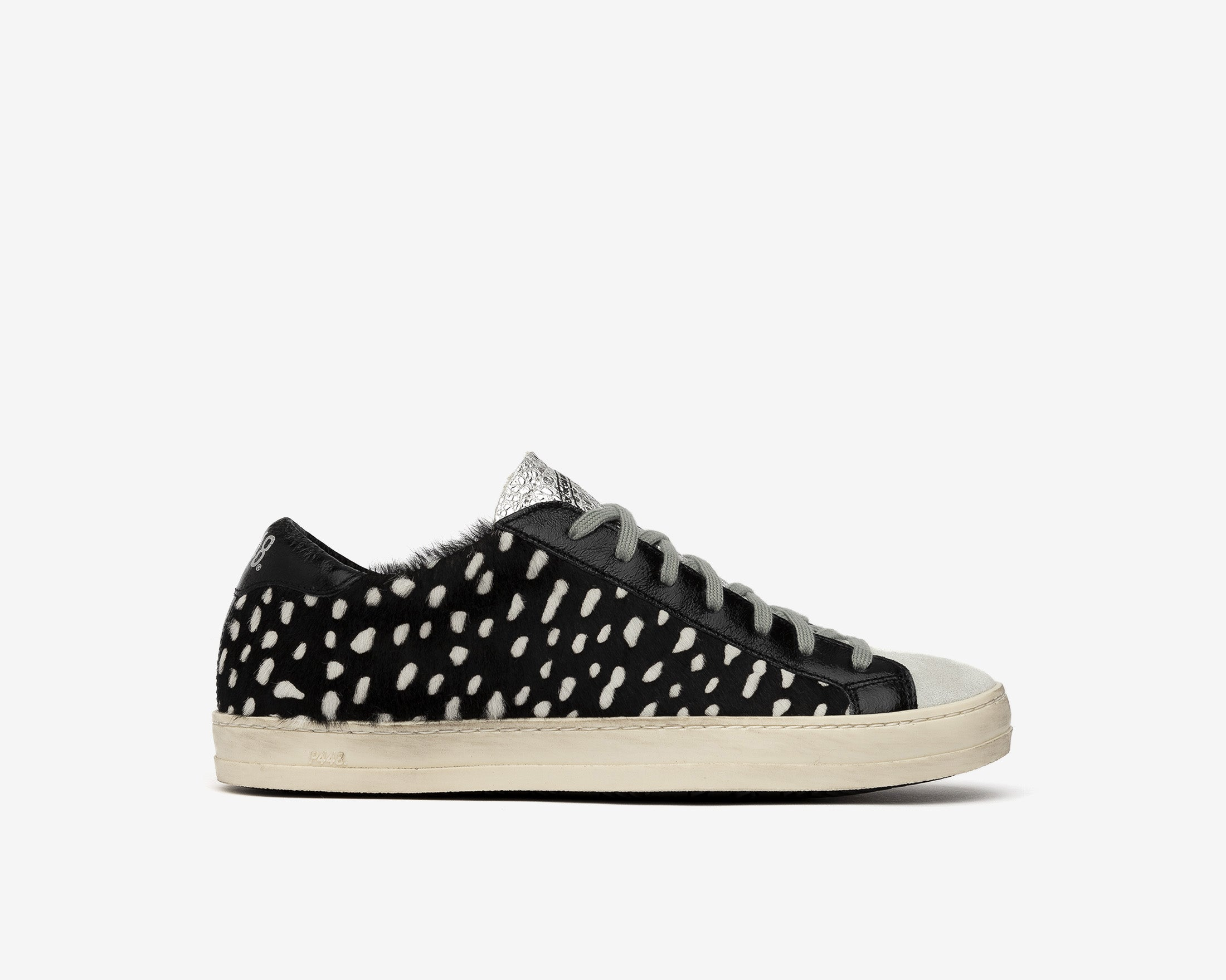 John Low-Top Sneaker in Cow Iena White - Profile