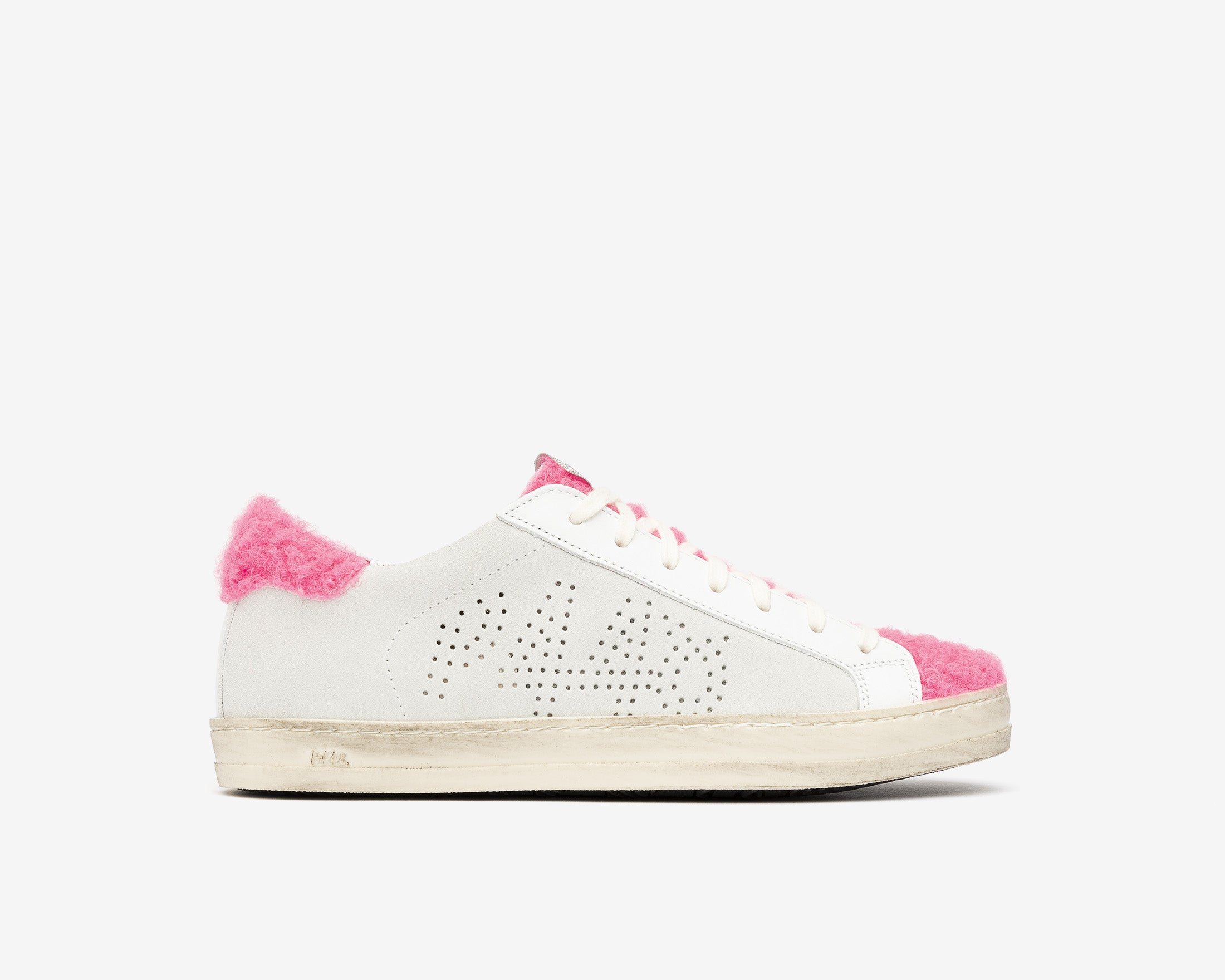 John Low-Top Sneaker in Lamb - Profile
