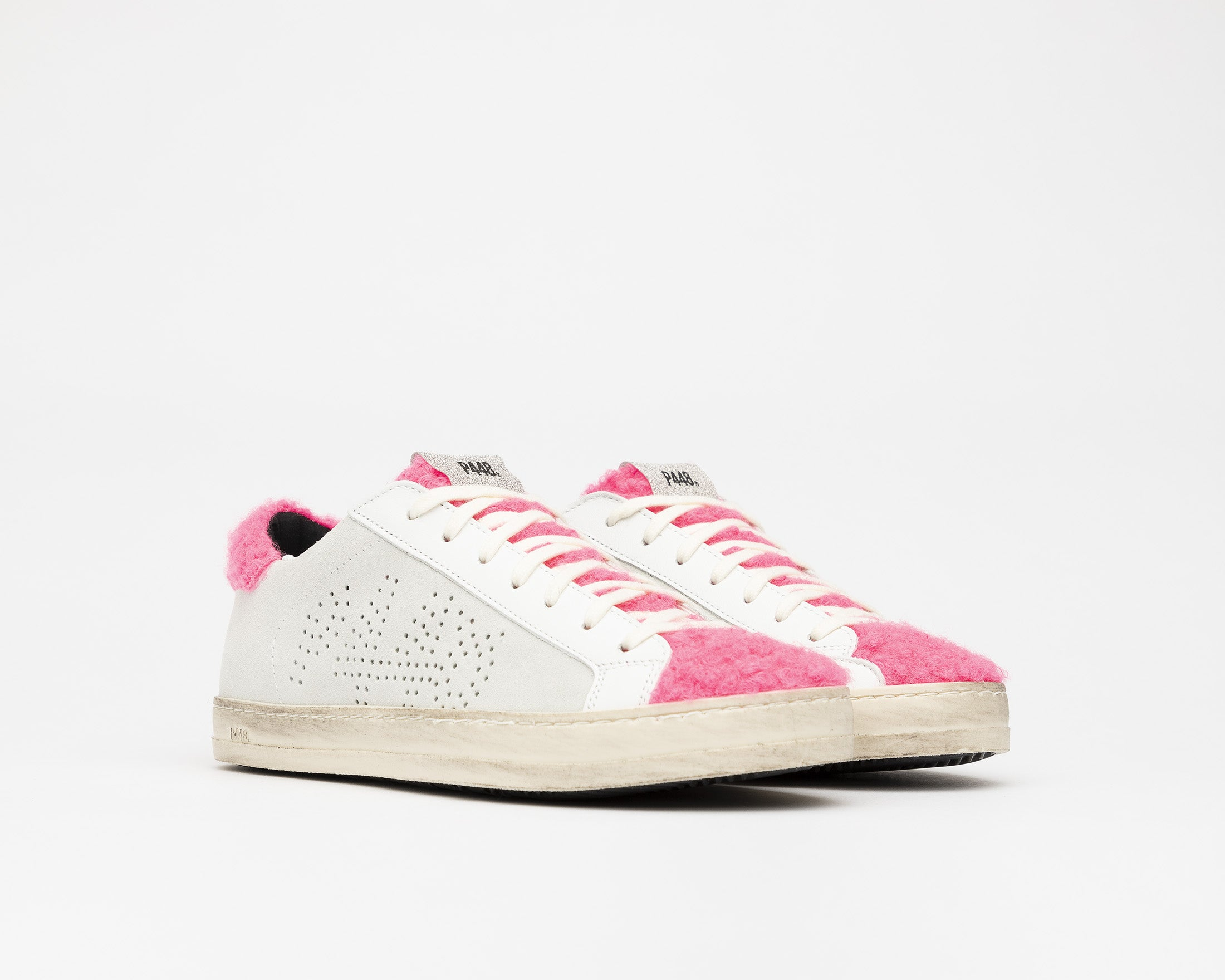 John Low-Top Sneaker in Lamb - Side