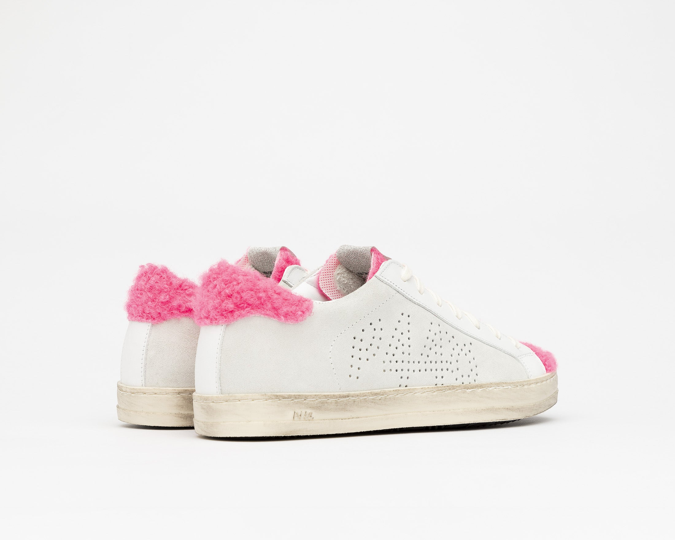 John Low-Top Sneaker in Lamb - Back