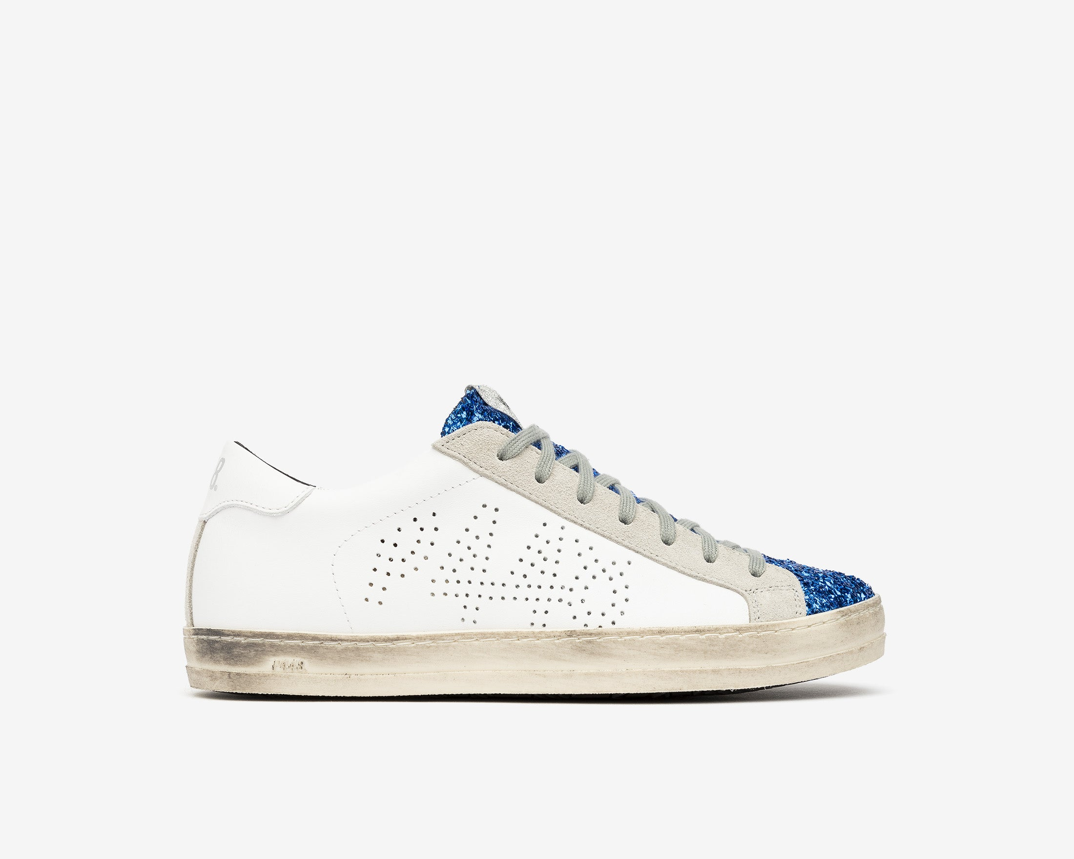 John Low-Top Sneaker in Royal/Lunar - Profile