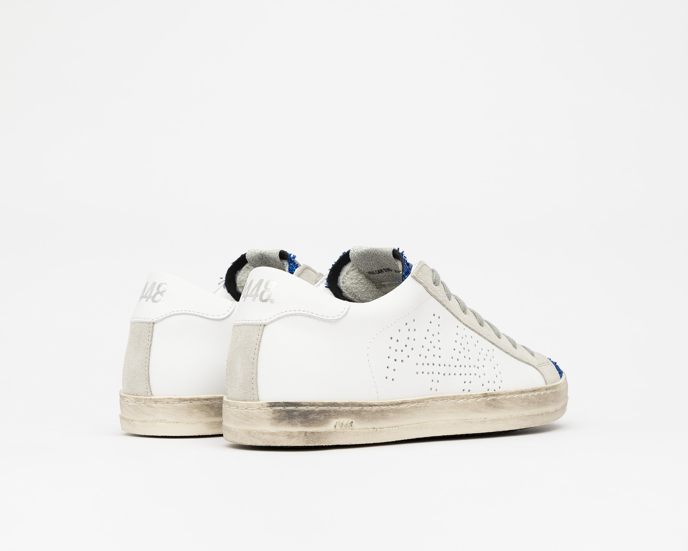 John Low-Top Sneaker in Royal/Lunar - Back