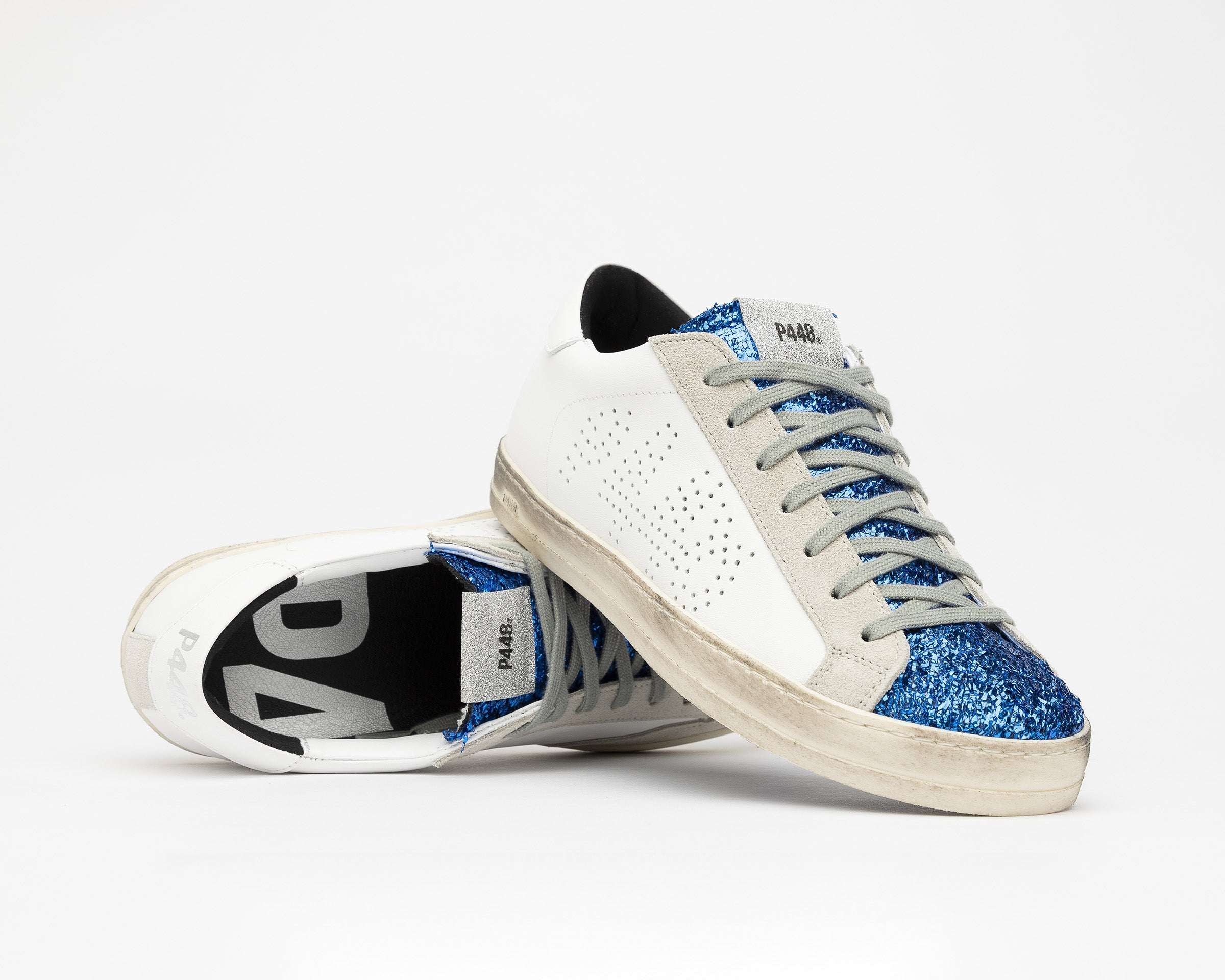 John Low-Top Sneaker in Royal/Lunar - Detail 2