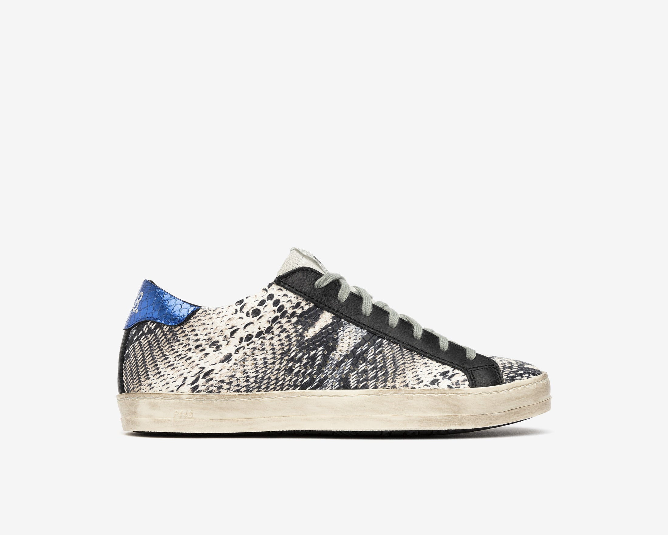 John Low-Top Sneaker in Twister Python - Profile