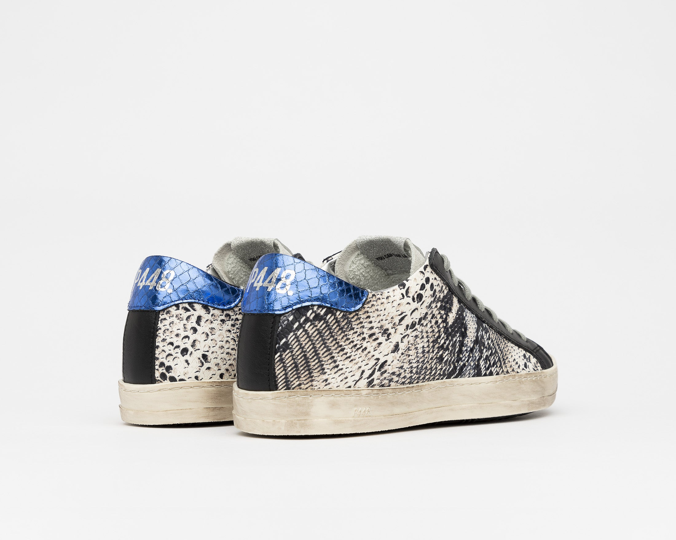 John Low-Top Sneaker in Twister Python - Back