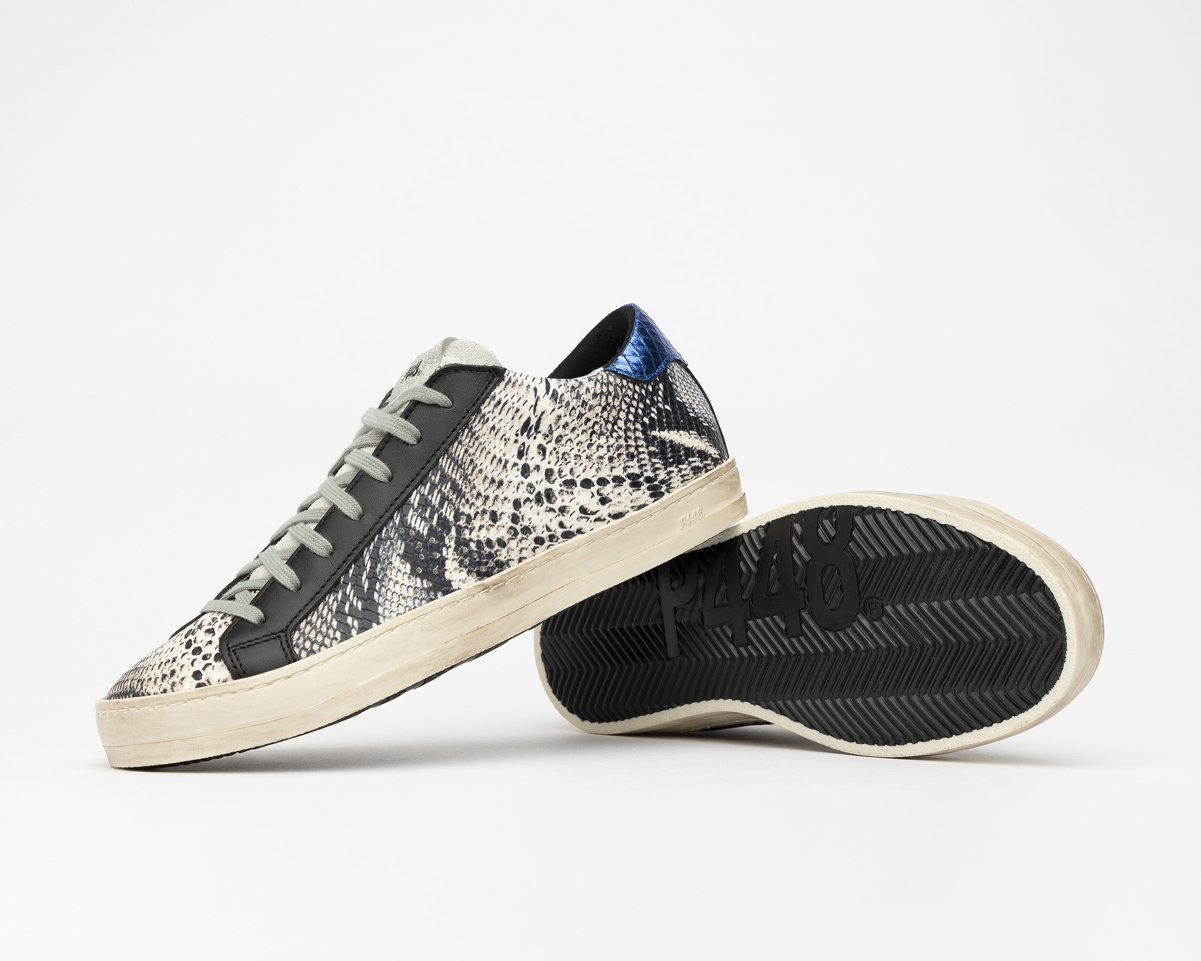 John Low-Top Sneaker in Twister Python - Detail 1
