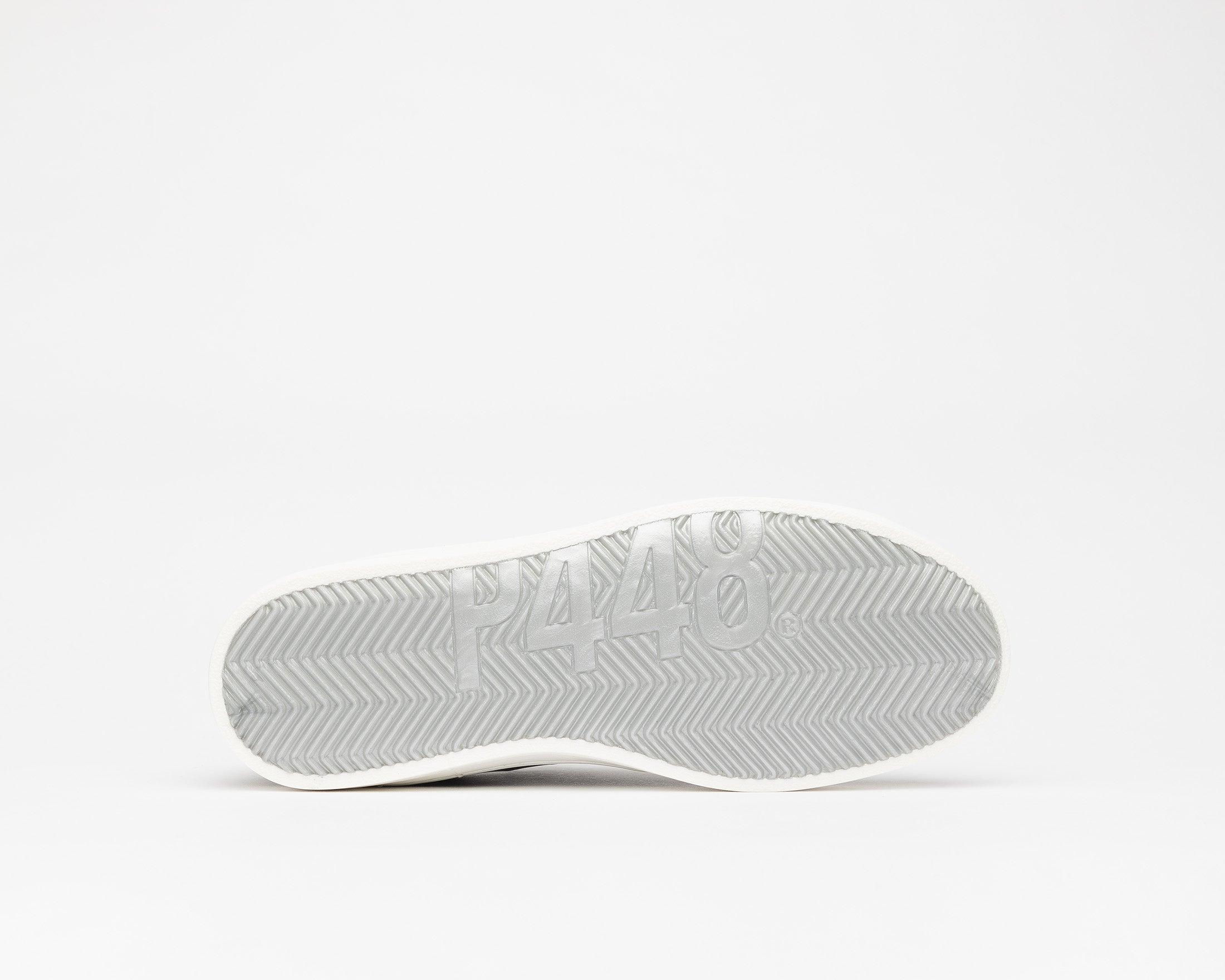 John Low-Top Sneaker in White Zebra/Beige - Bottomm