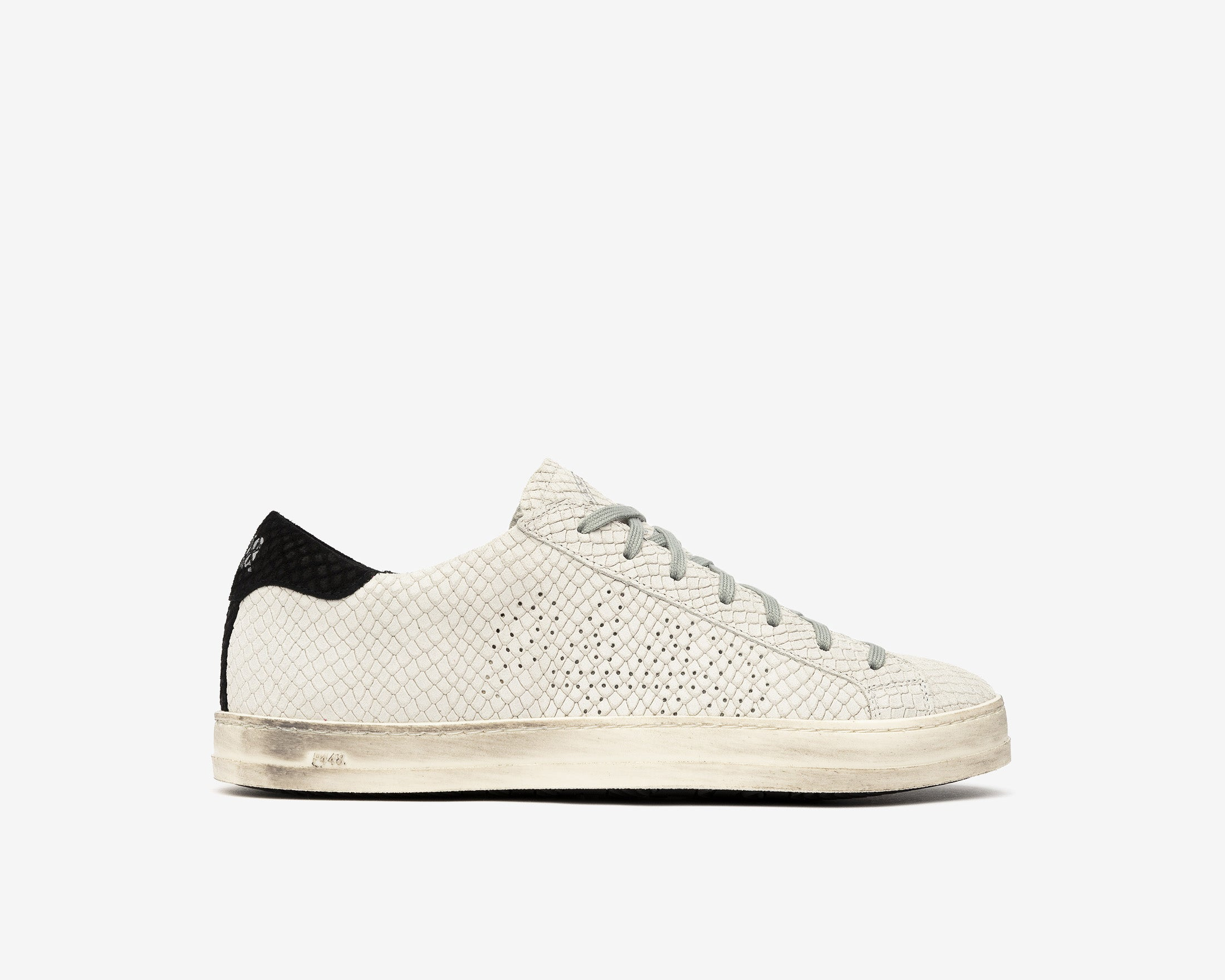 JohnBS Low-Top Sneaker in MultiSnake - Profile