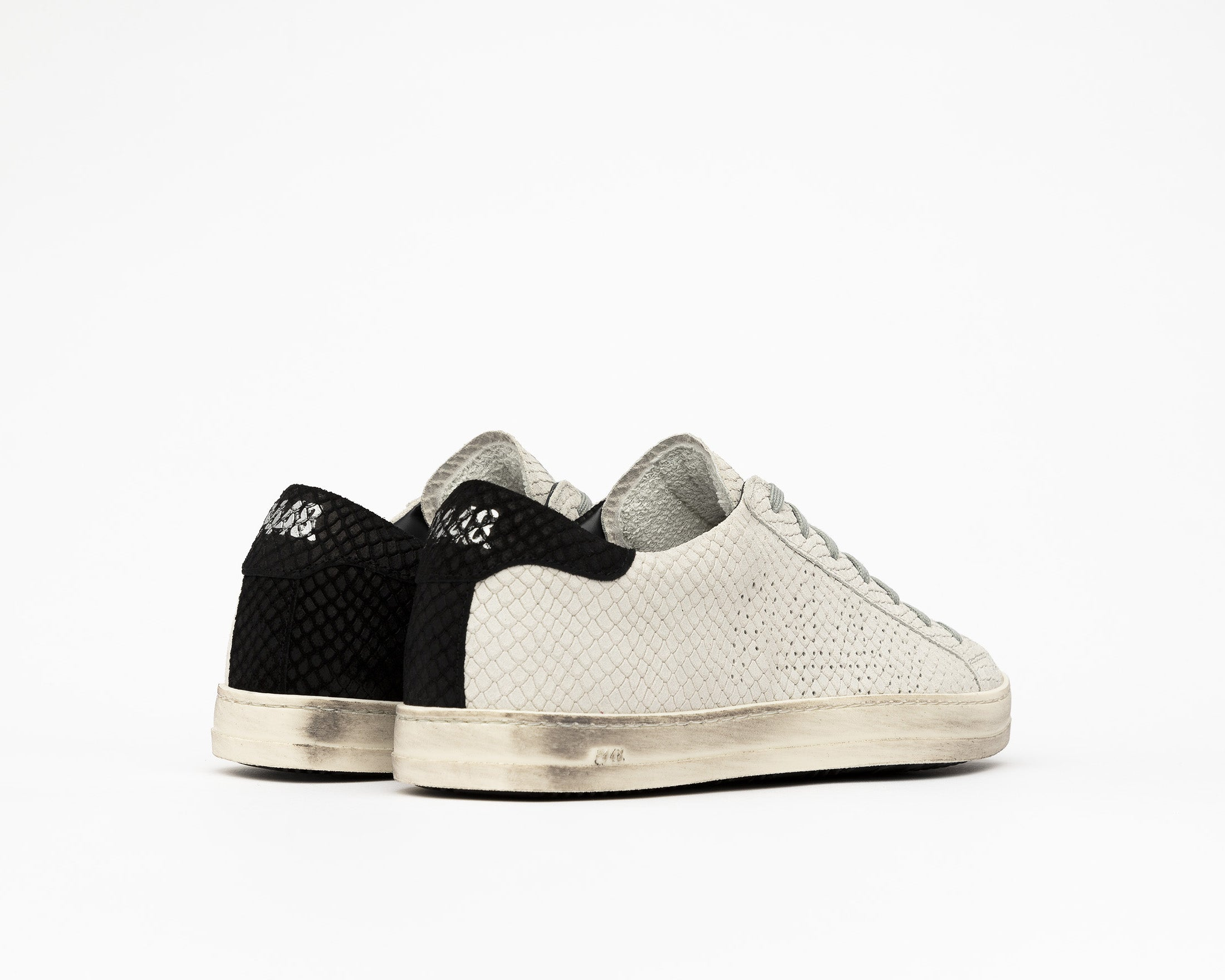 JohnBS Low-Top Sneaker in MultiSnake - Back