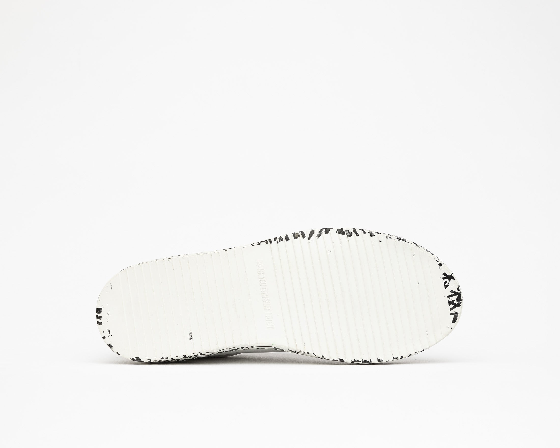 JohnP Low-Top Sneaker in White/P448 Sole - Bottom