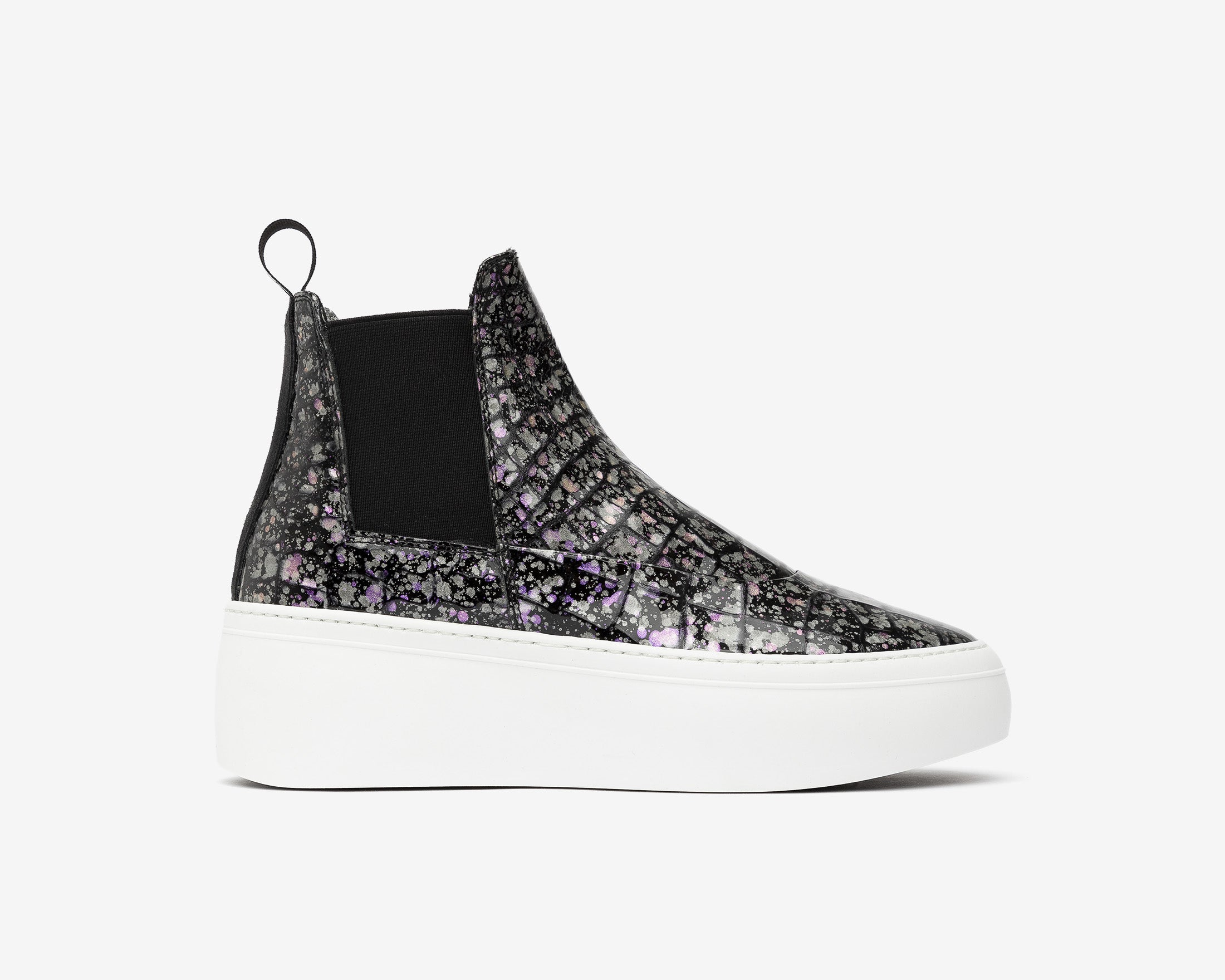 Lucy Chunky Platform Sneaker in Supernova - Profile
