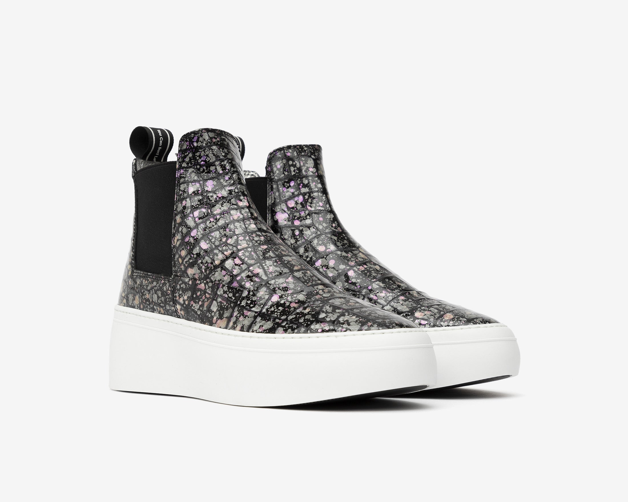 Lucy Chunky Platform Sneaker in Supernova - Side