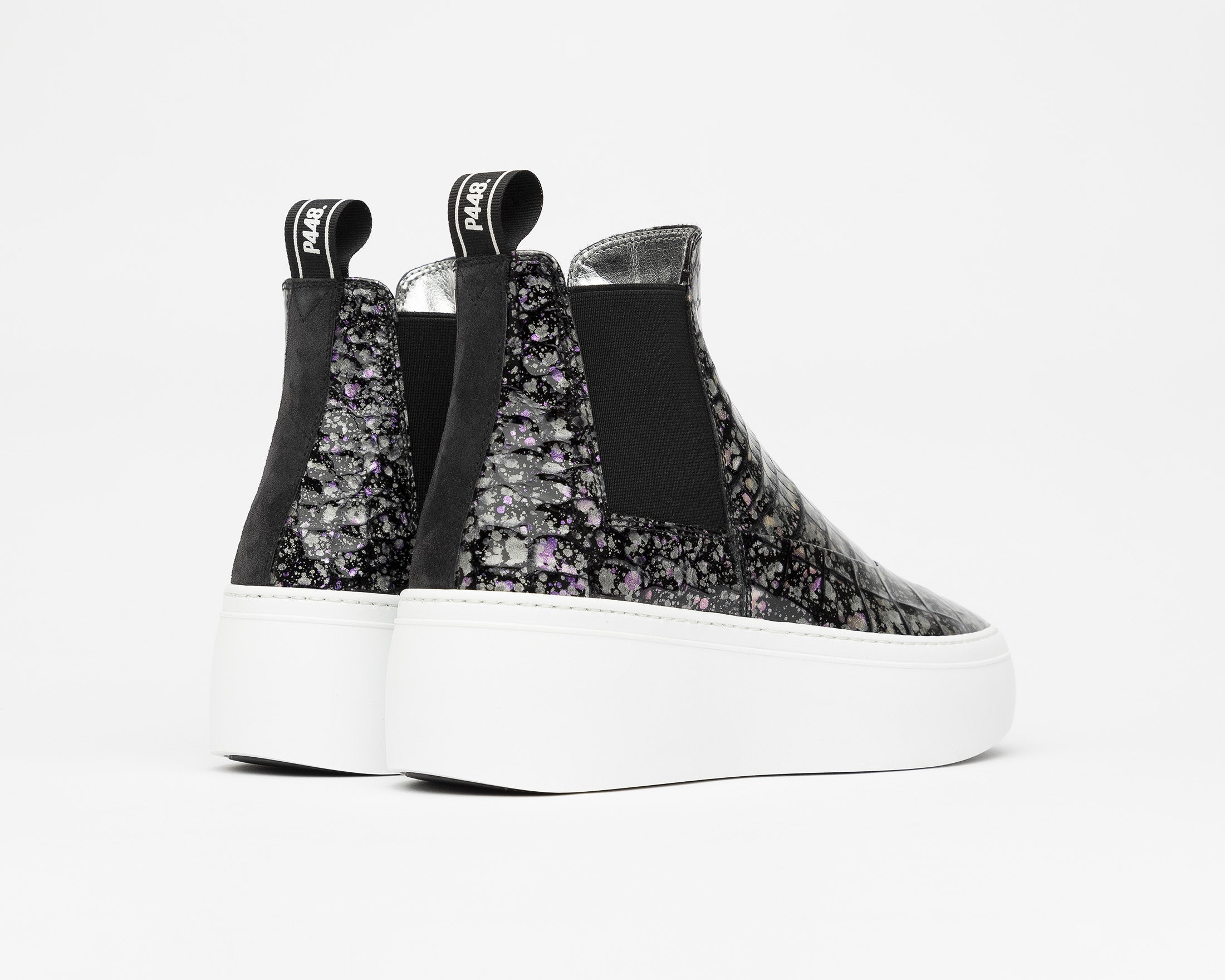 Lucy Chunky Platform Sneaker in Supernova - Back