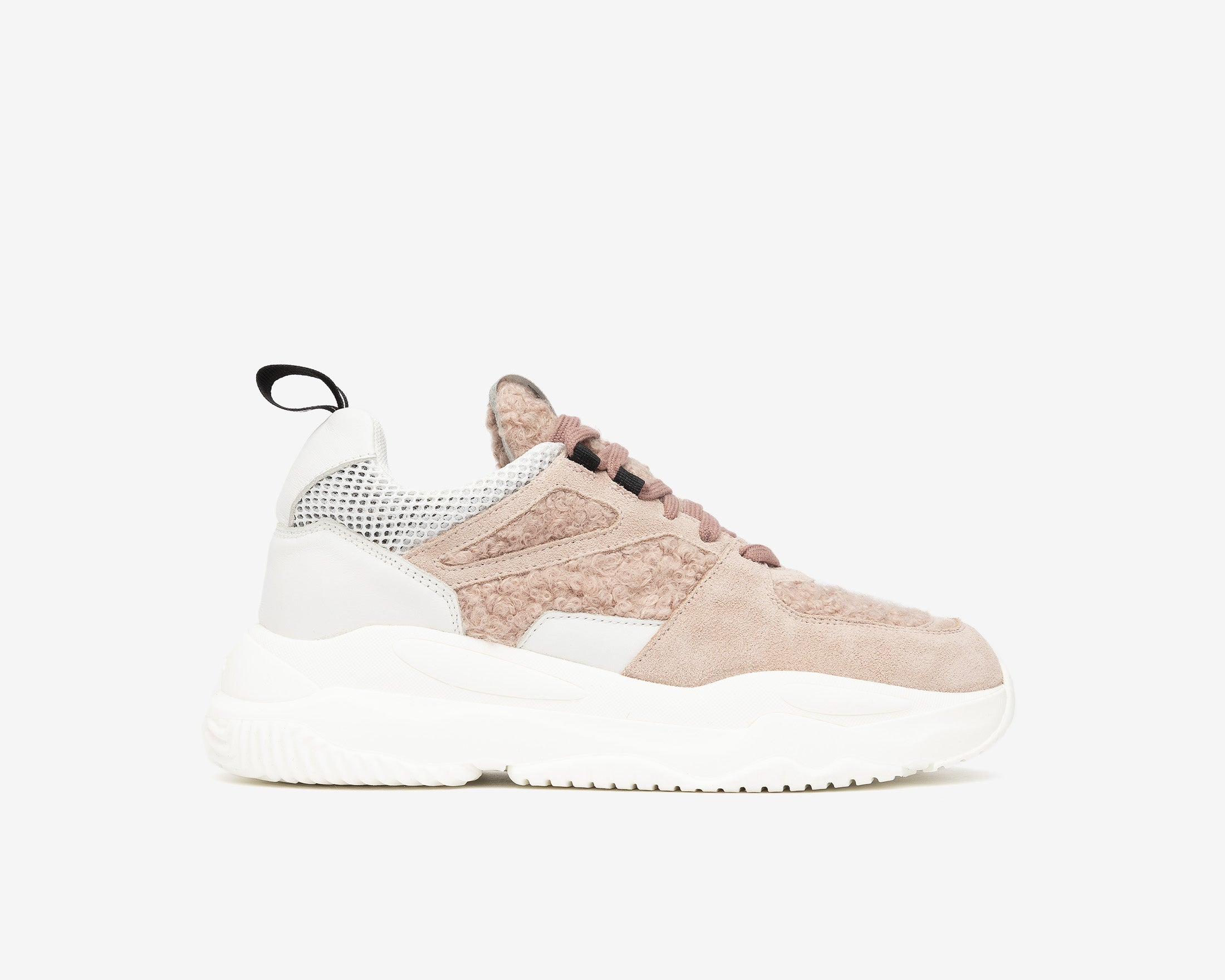 Luke Chunky Sneaker in Lamb - Profile