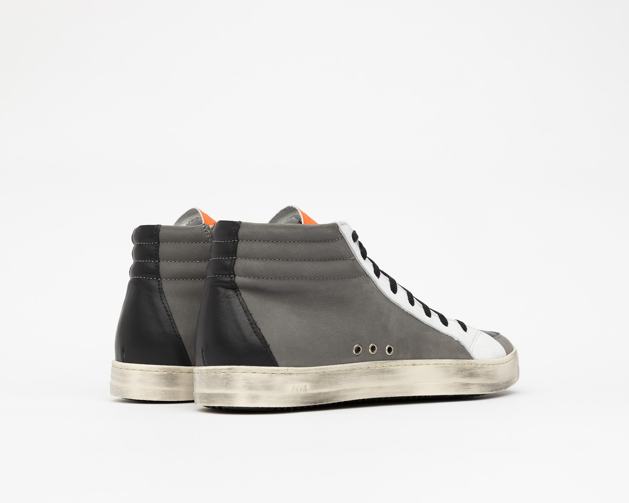 Skate Alabama - High Top Sneaker - Back