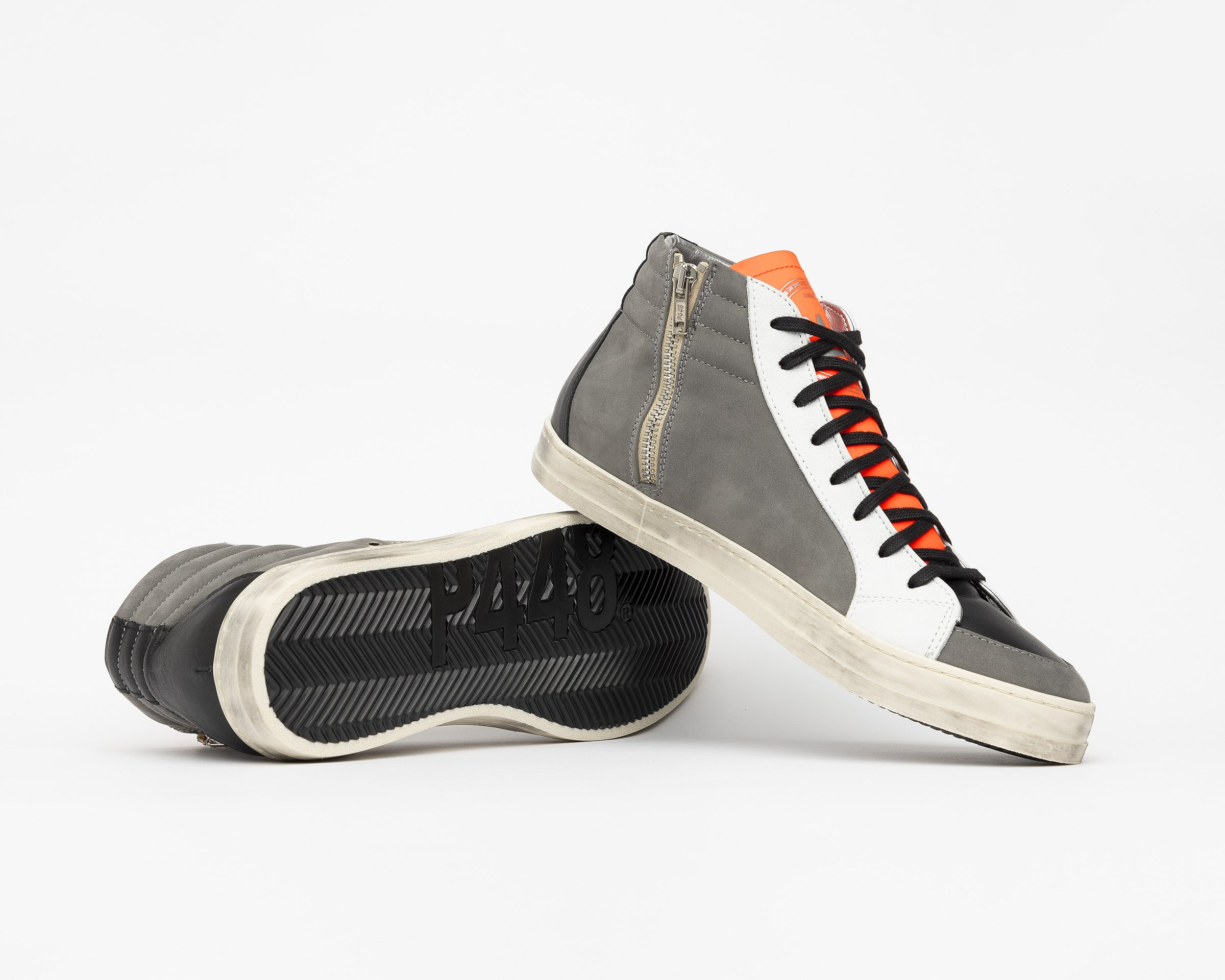 Skate Alabama - High Top Sneaker - Mens - Detail