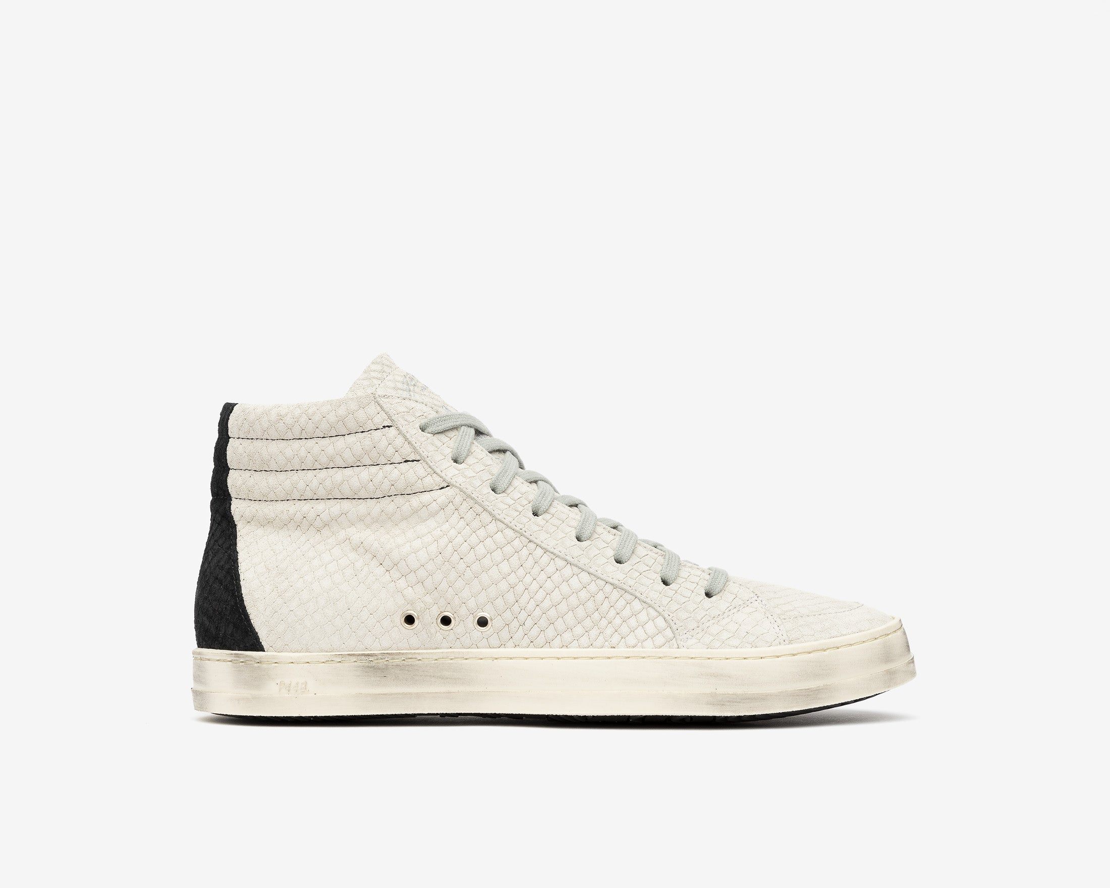 SkateBS High-Top Sneaker in MultiSnake - Profile