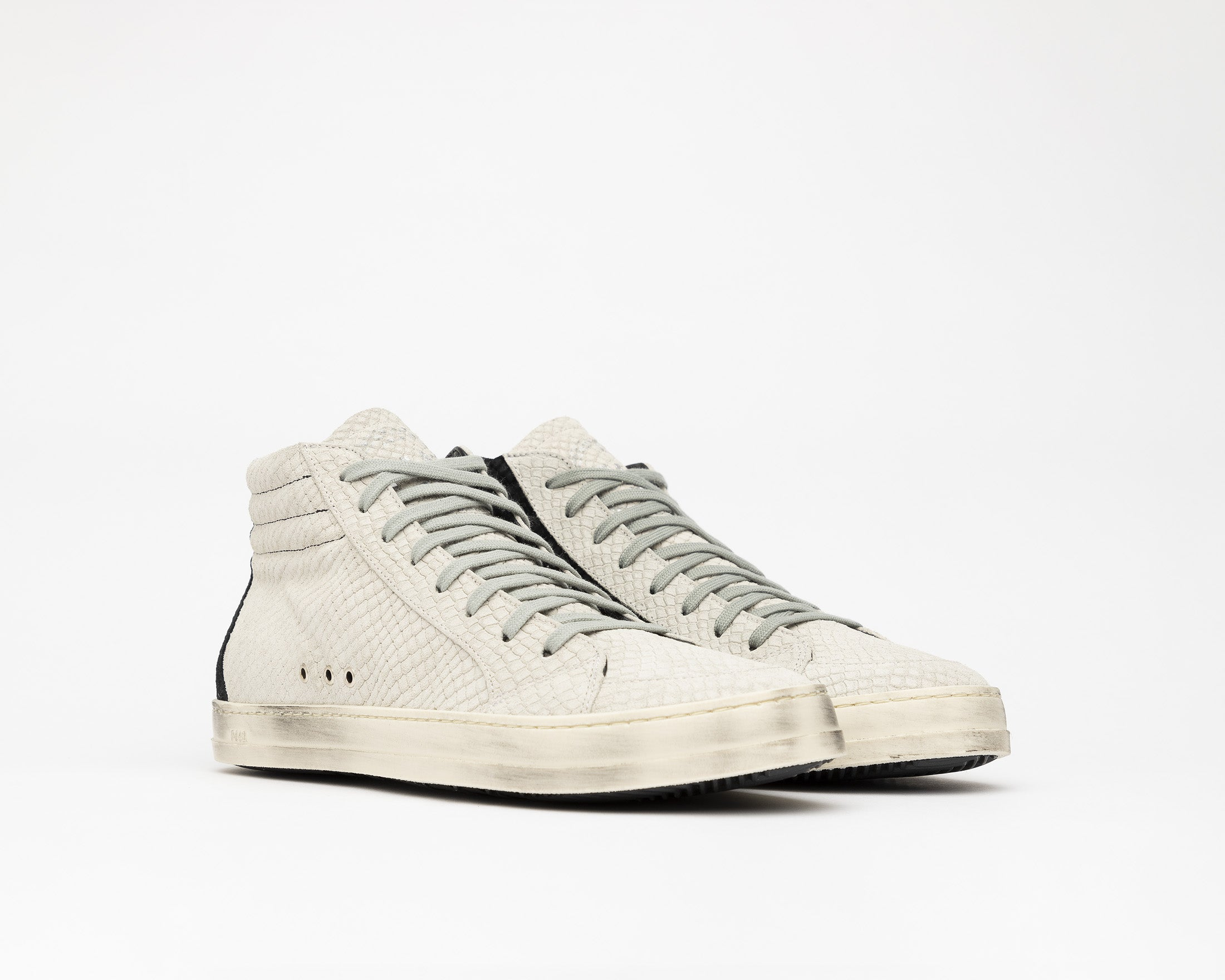 SkateBS High-Top Sneaker in MultiSnake - Side